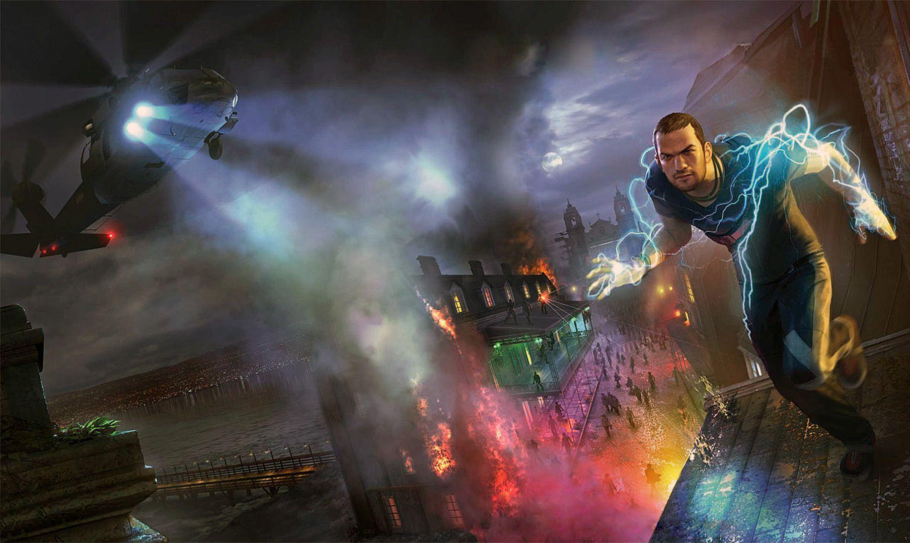 Wallpapers For > Infamous 2 Wallpapers Hd