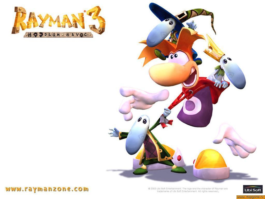 Pix For > Rayman 3 Wallpapers