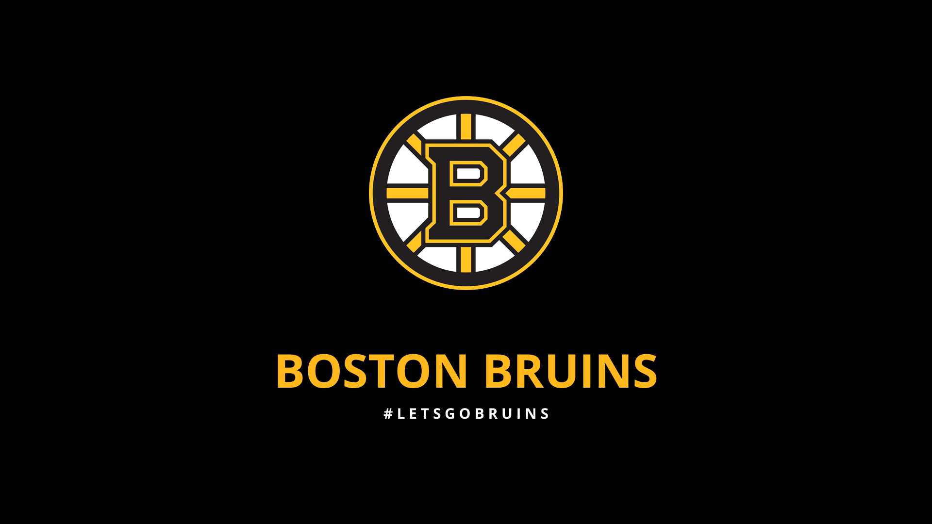 Minimalist Boston Bruins wallpaper by lfiore on DeviantArt