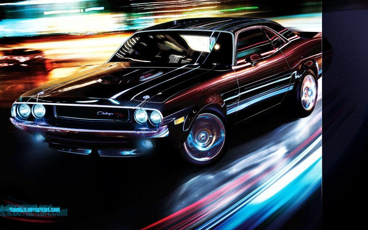 dodge challenger wallpaper by flameks on deviantart. Cars Review. Best American Auto & Cars Review