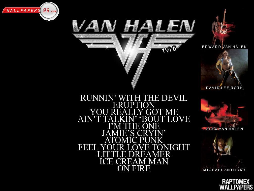 Van Halen Wallpapers Picture Image 1024x768 13738