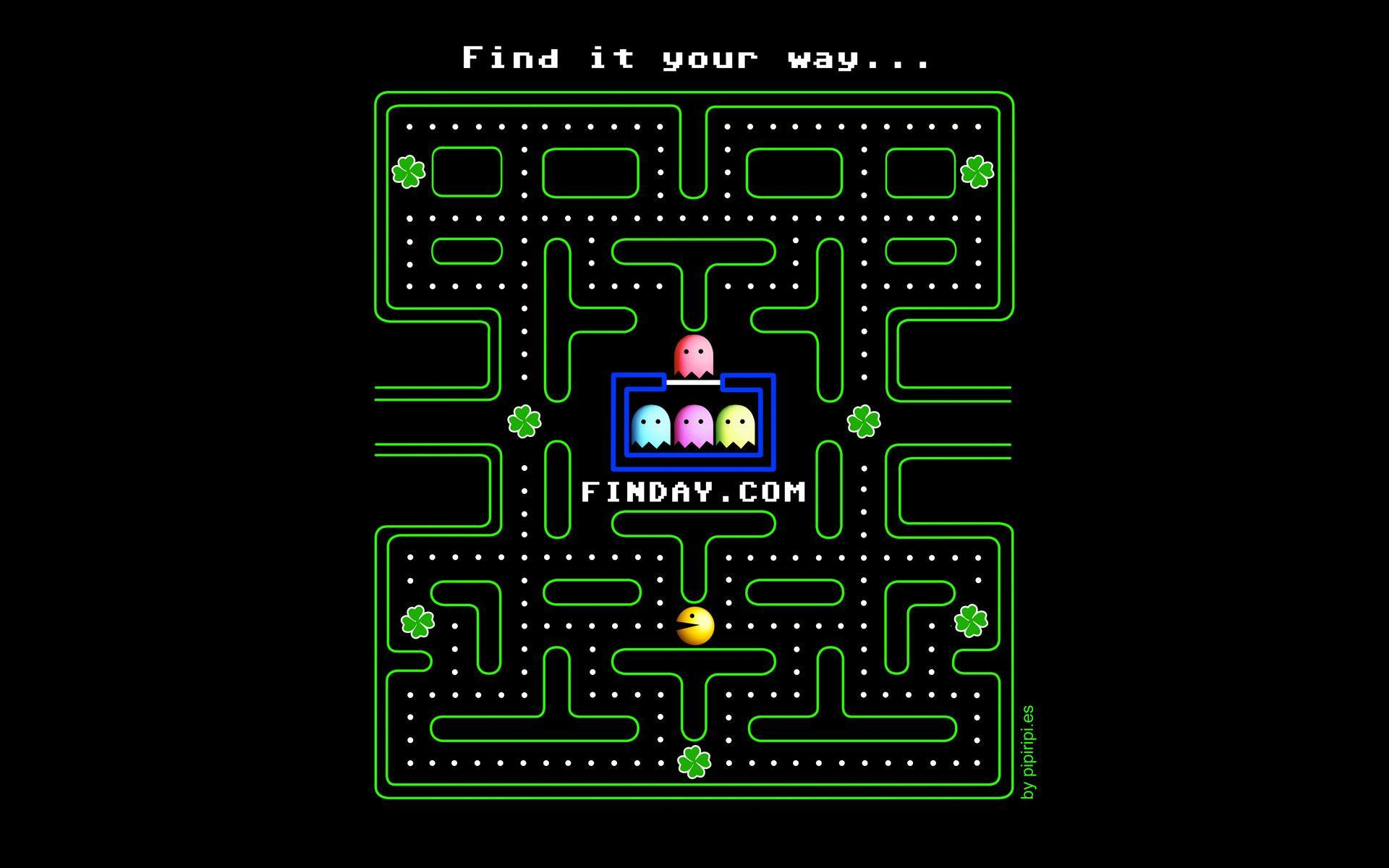 Arcade Game Wallpaper Group With 57 Items: Pac-Man Wallpapers