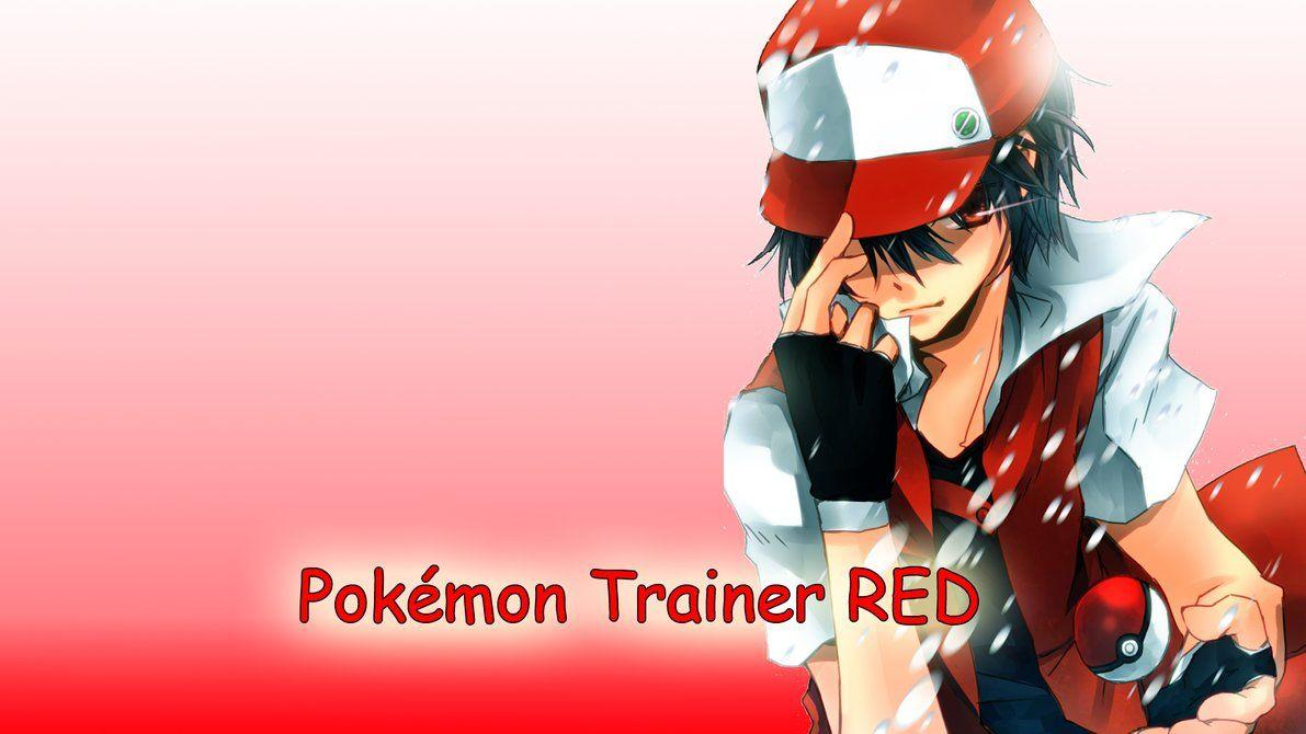 Wallpapers Red Pokemon Trainer by Roxxas21