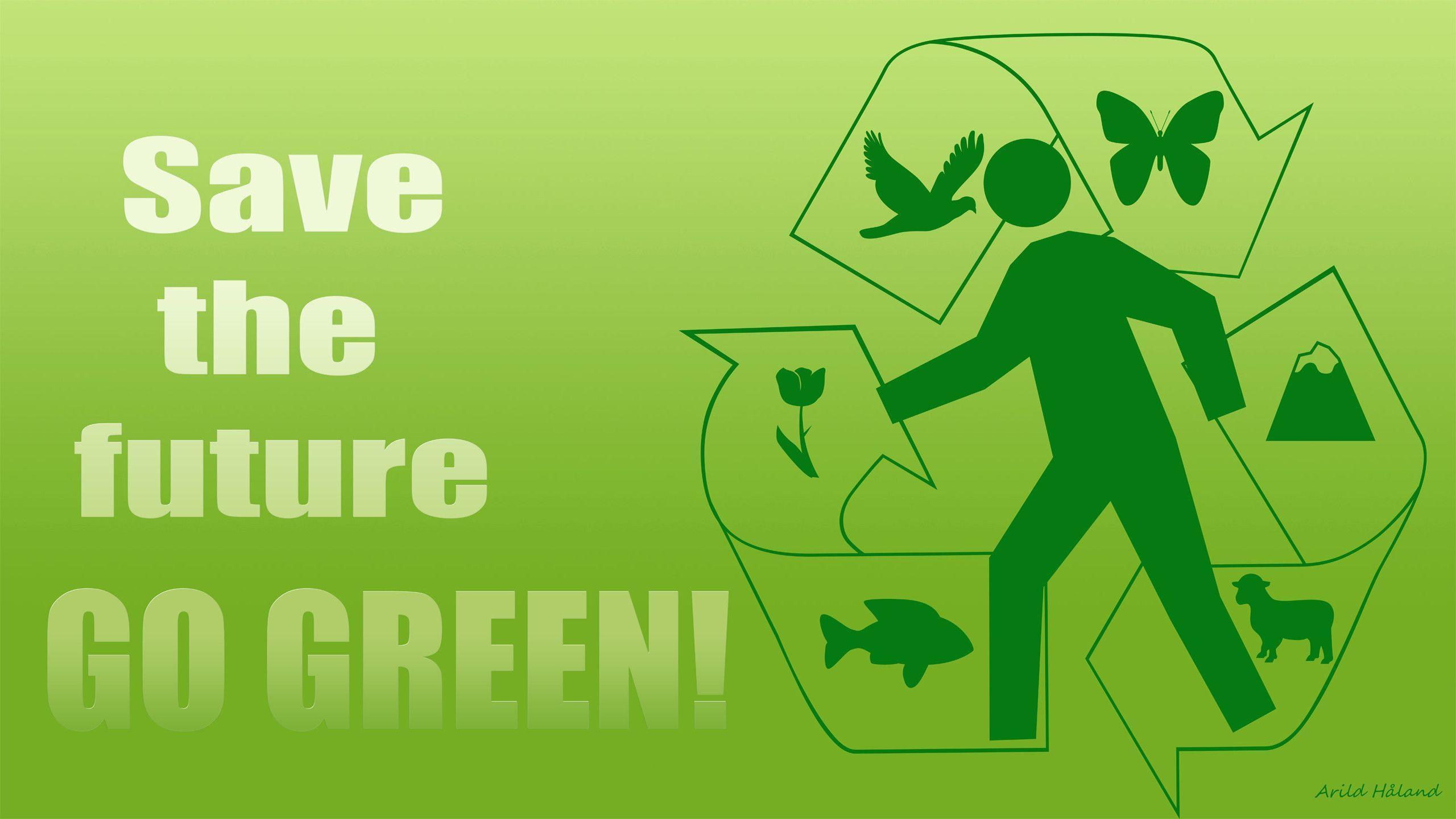 Go Green Wallpaper Hd