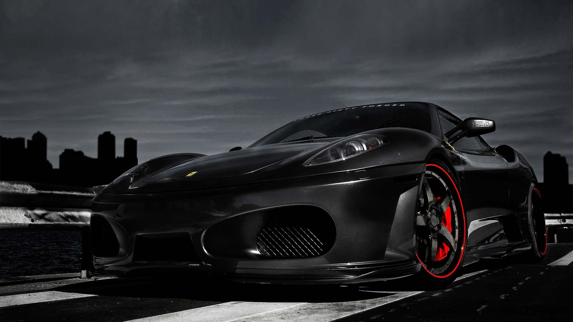 black ferrari wallpapers - wallpaper cave