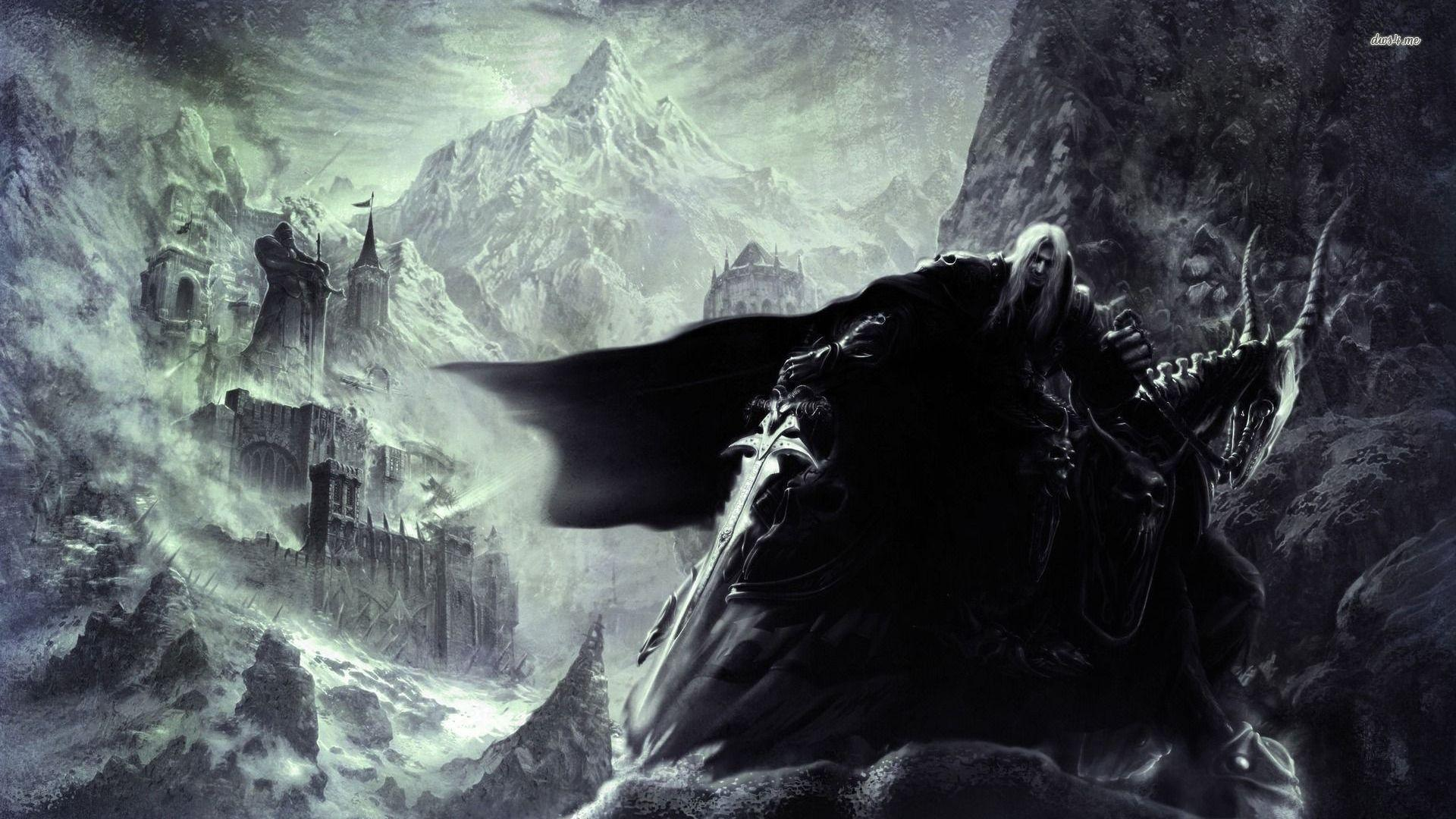 The Lich King Wallpapers Wallpaper Cave