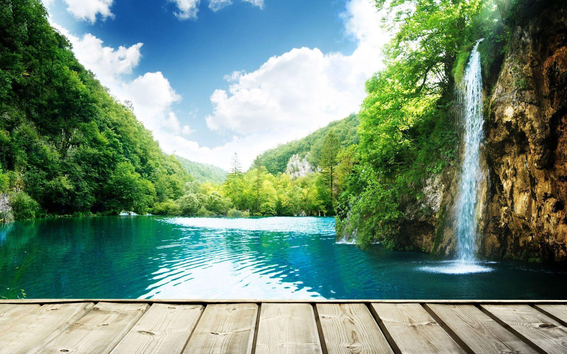 Desktop backgrounds waterfalls hd