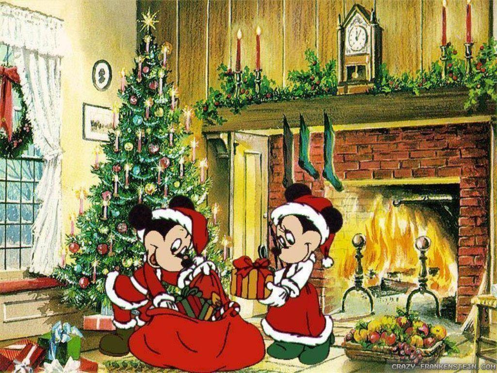 Free Disney Christmas Wallpapers - Wallpaper Cave