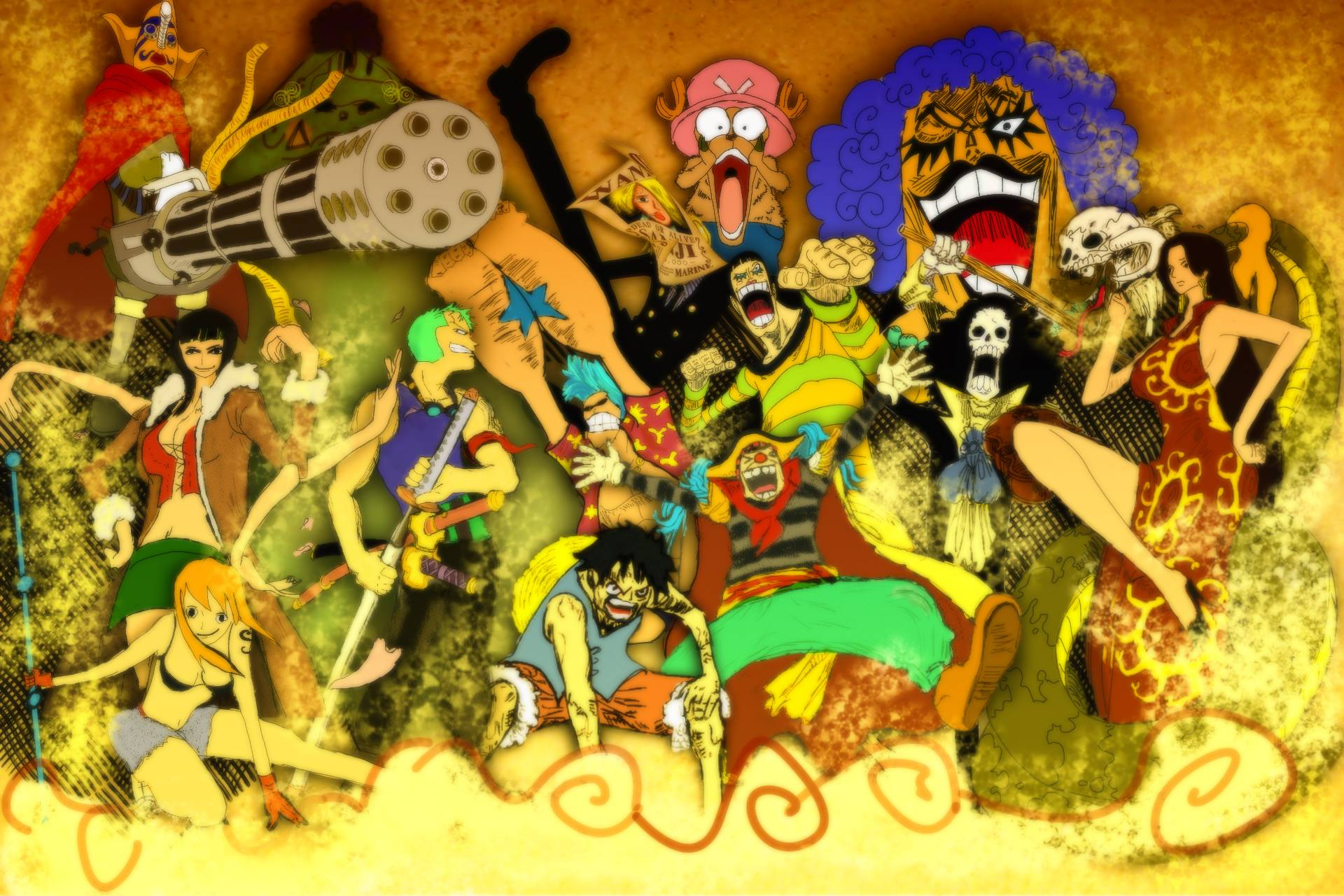 One piece wallpapers 2015 wallpaper cave - One piece pictures new world ...