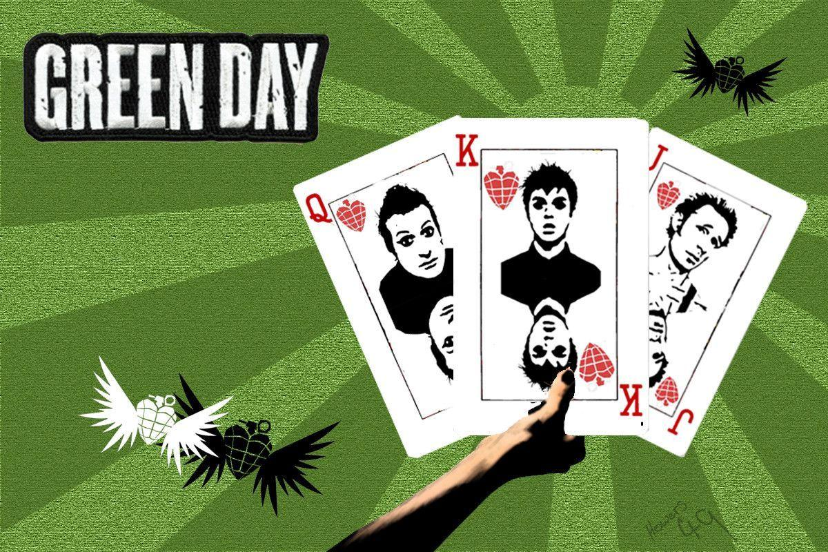 Green Day Card HD Wallpapers