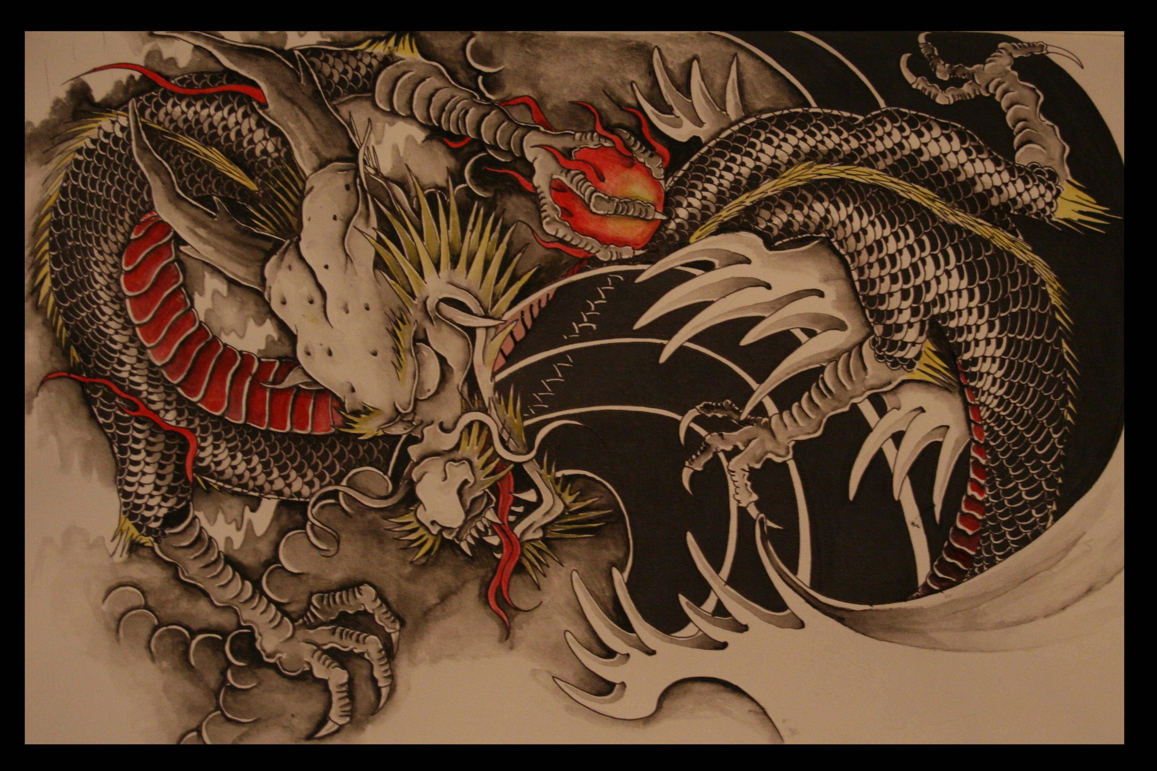 red chinese dragon wallpaper - photo #29