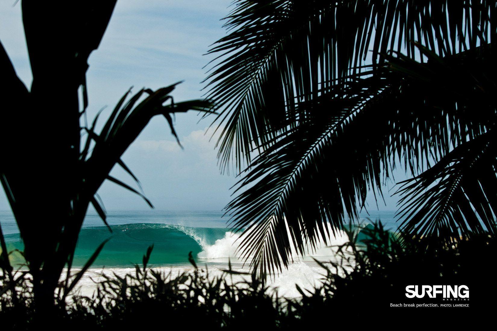Quiksilver Surfing Wallpaper 画像 : ビーチ海�...