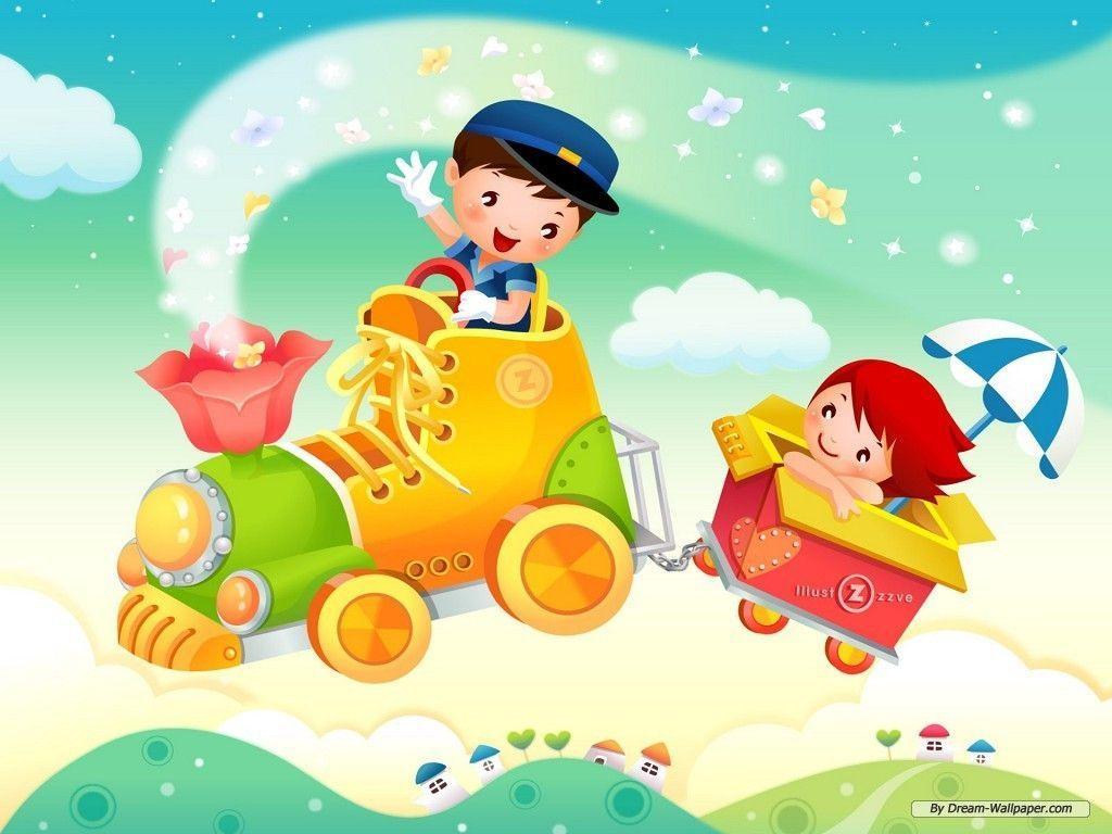 Cartoon Wallpapers For Kids 4
