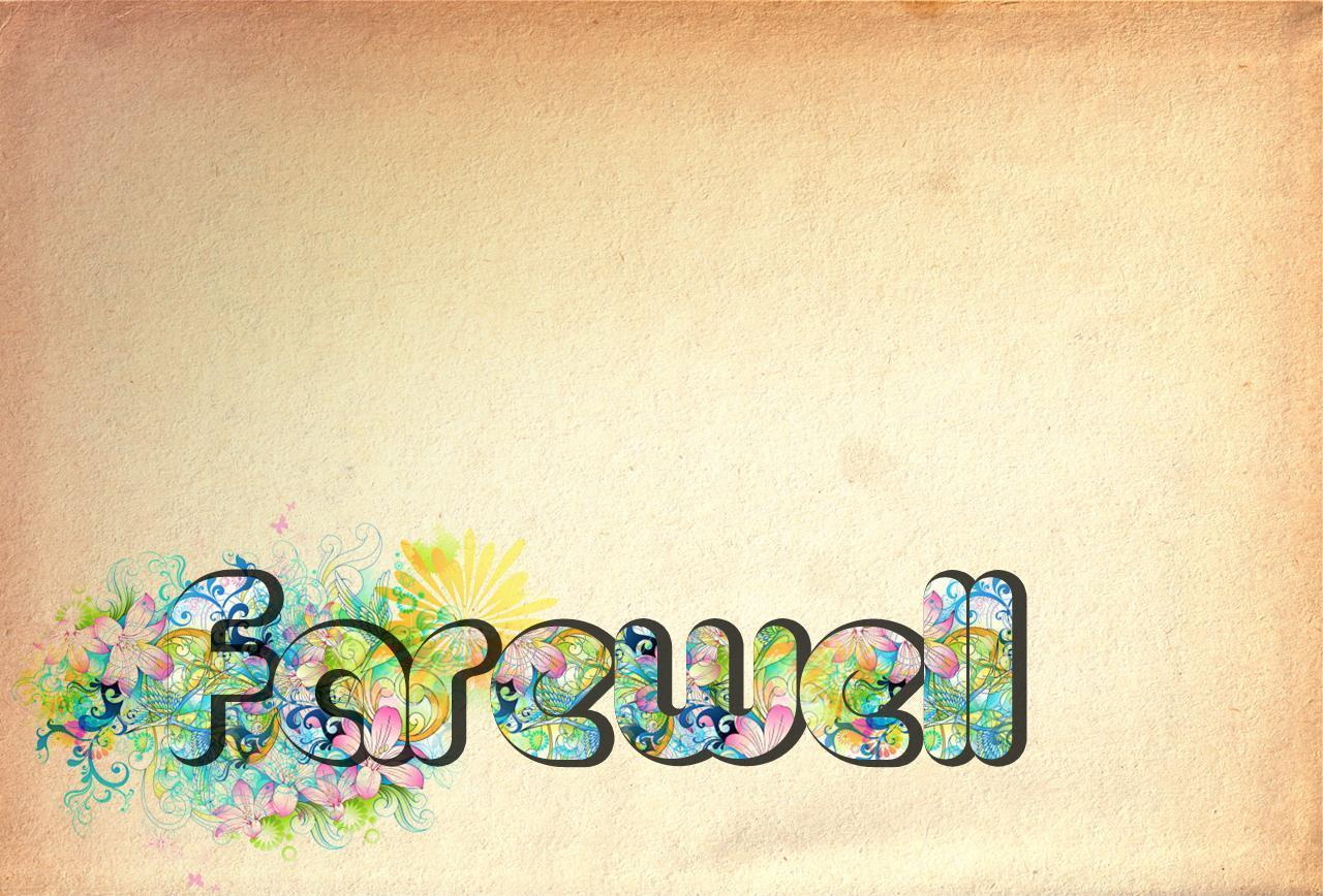 Farewell backgrounds wallpaper cave for Farewell banner template