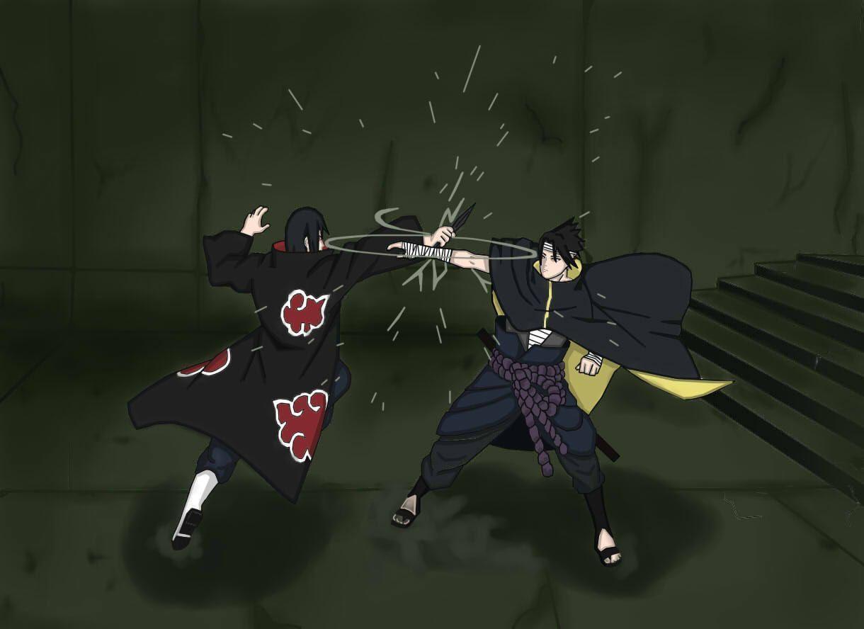 Cartoon Wallpaper Sasuke Vs Itachi Wallpaper: Sasuke Itachi Wallpapers
