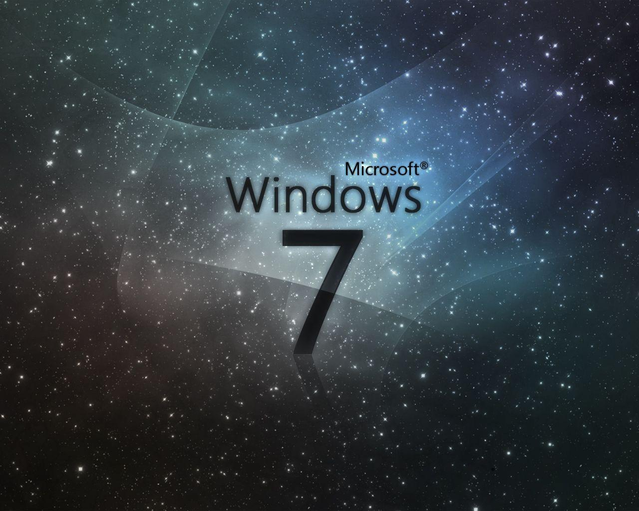 Windows 7 Black Wallpapers