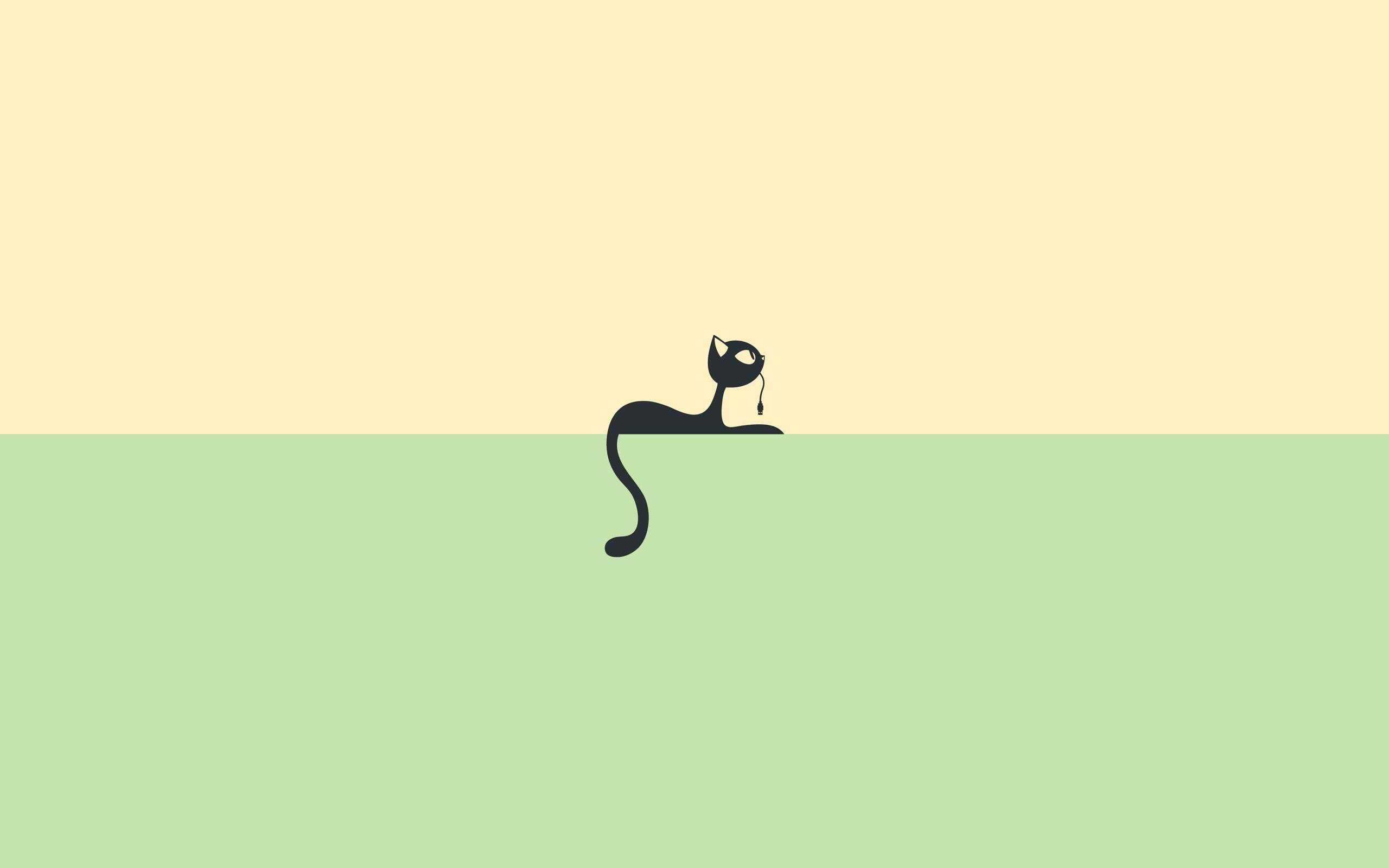 Cartoon cat wallpapers wallpaper cave for Art minimal facebook