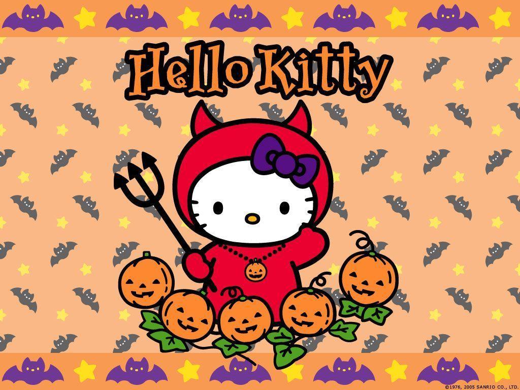 Free hello kitty halloween wallpapers wallpaper cave - Hello kitty halloween ...