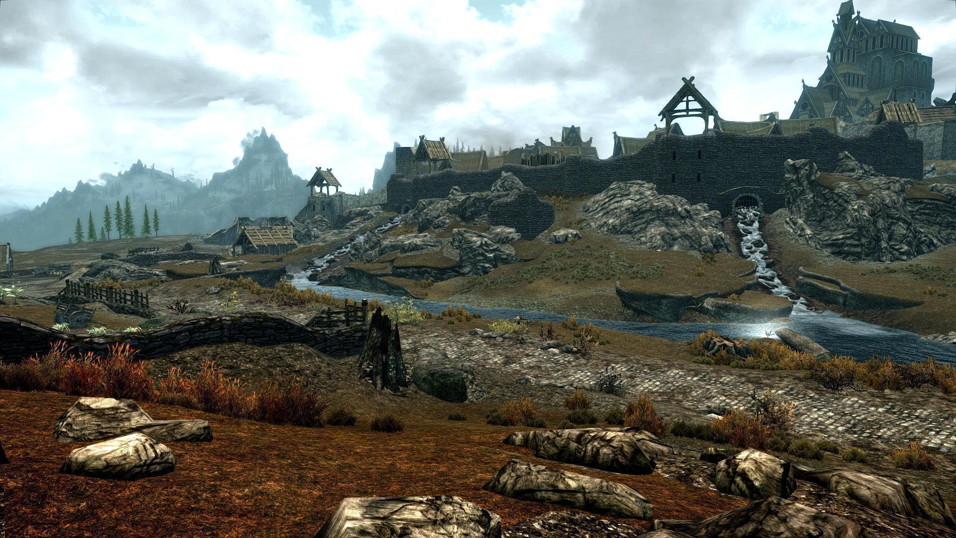 dragon landscape scenic wallpaper - photo #9