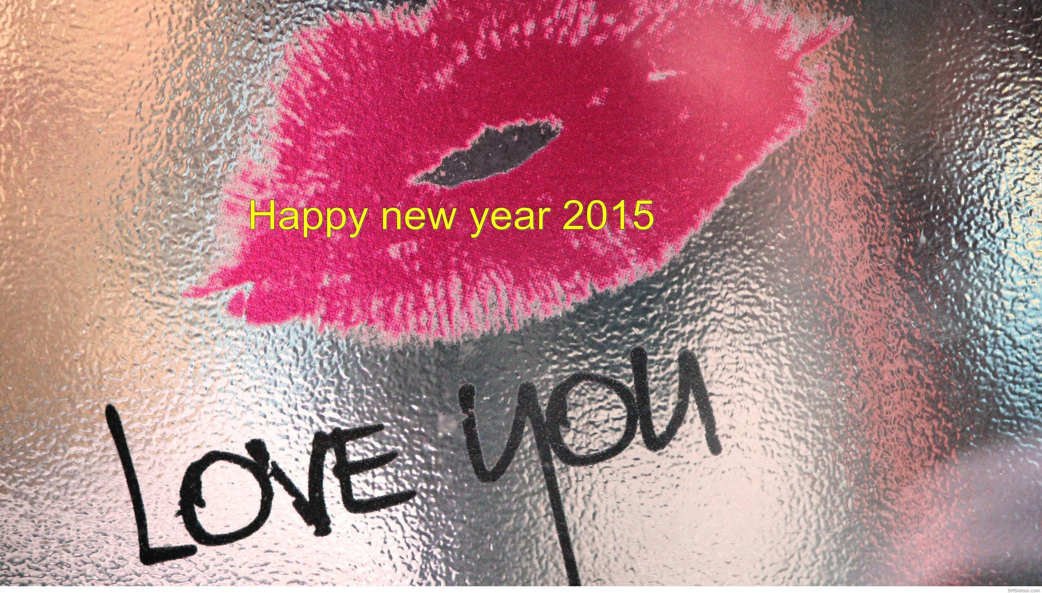 happy new year 2015 love you wallpapers