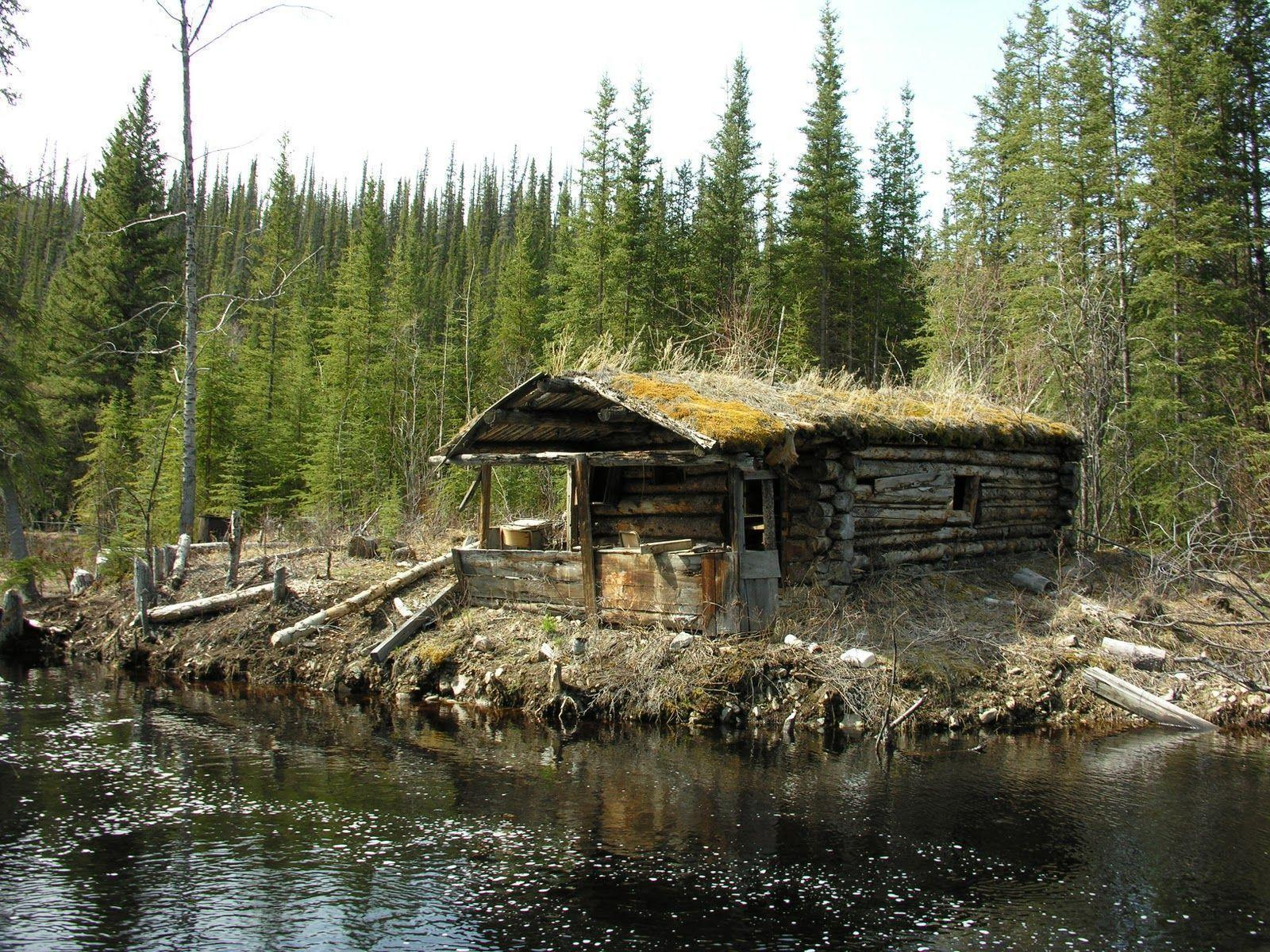 Log cabin wallpapers wallpaper cave - Mountain cabin plans close to nature ...