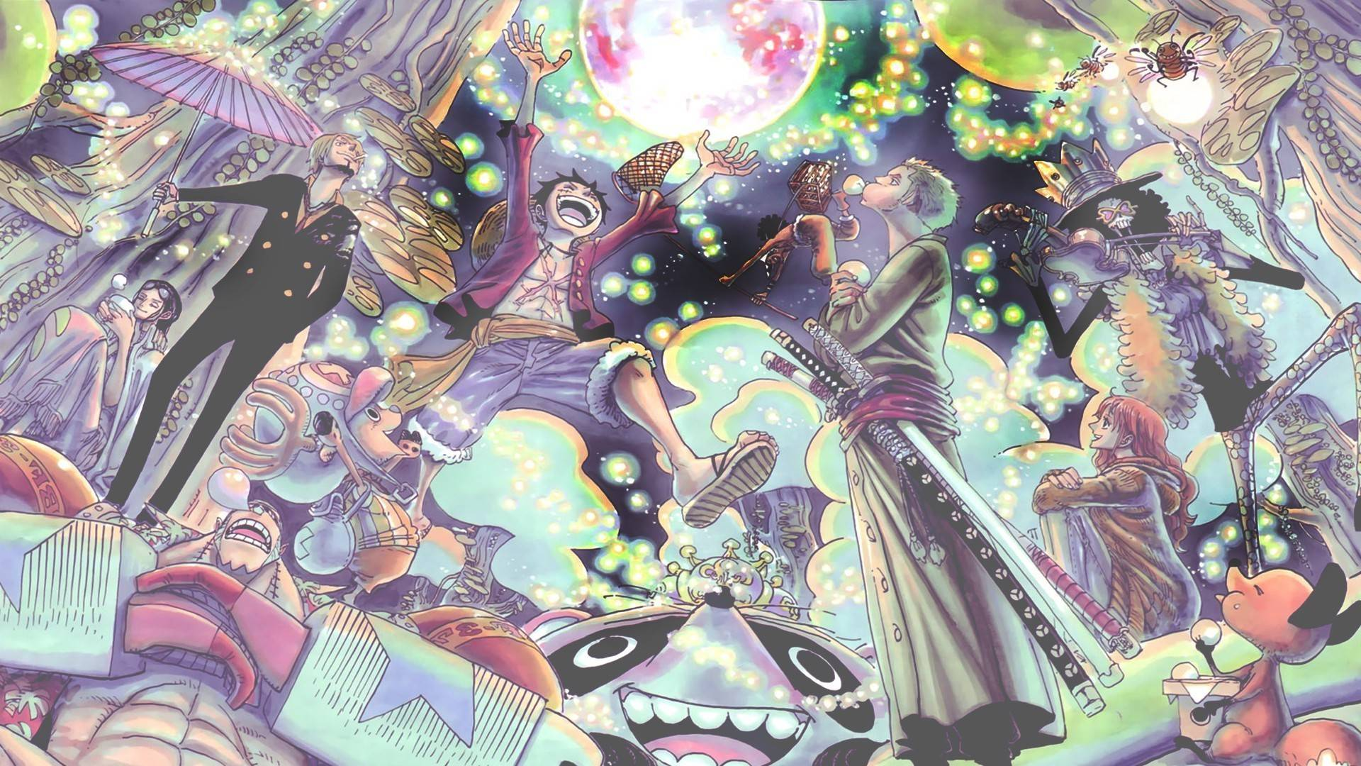 One Piece New World Characters Wallpaper One Piece New World Wa...