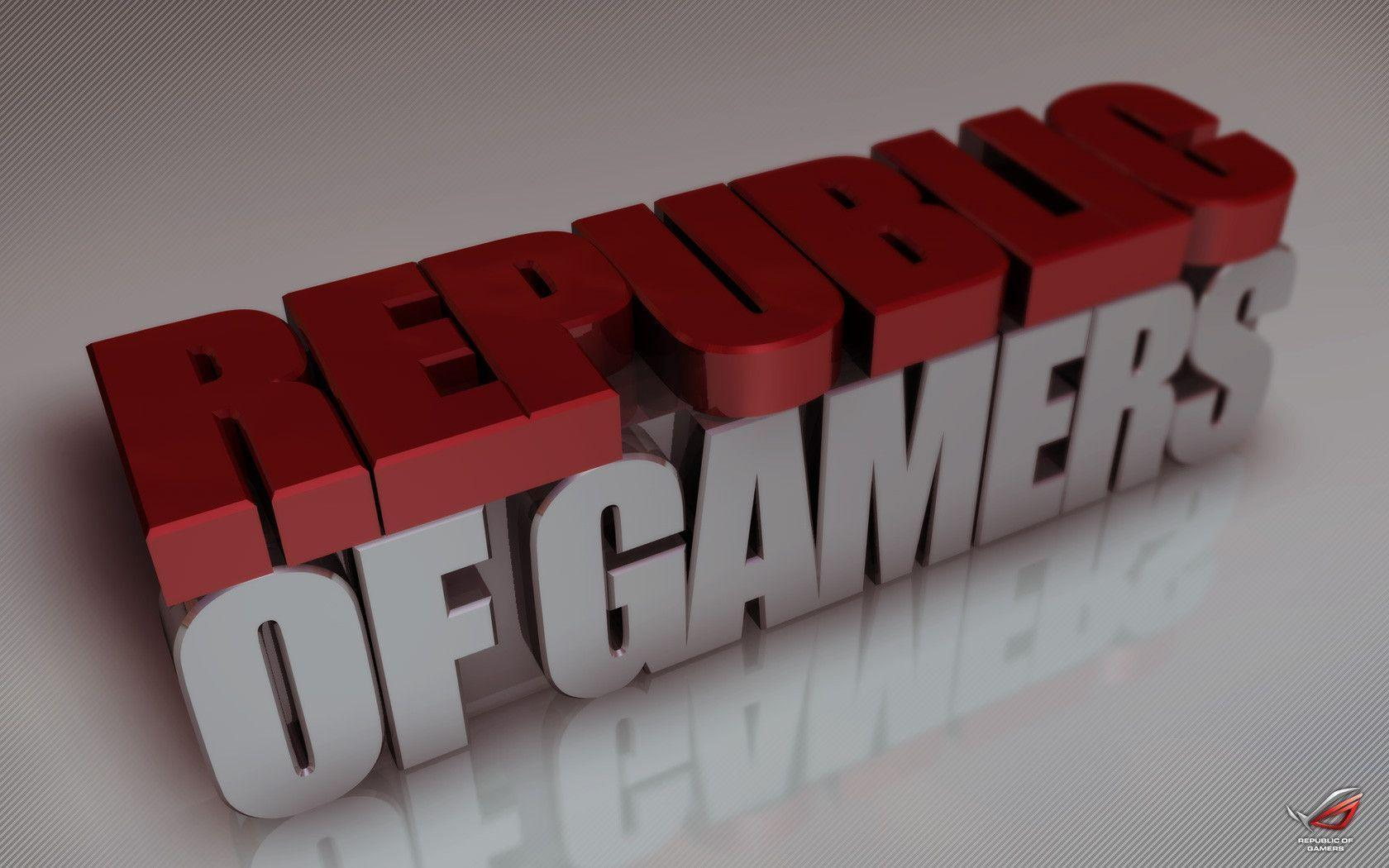 Republic of gamers wallpaper by Blast-X on DeviantArt