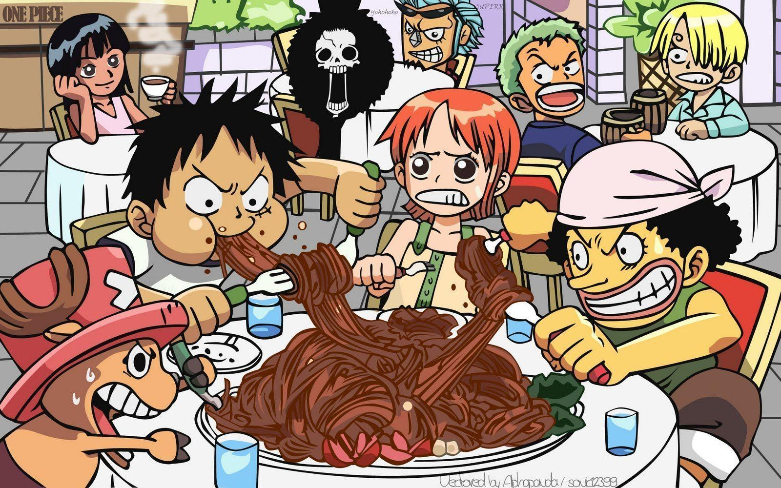 One Piece Chibi HD Image