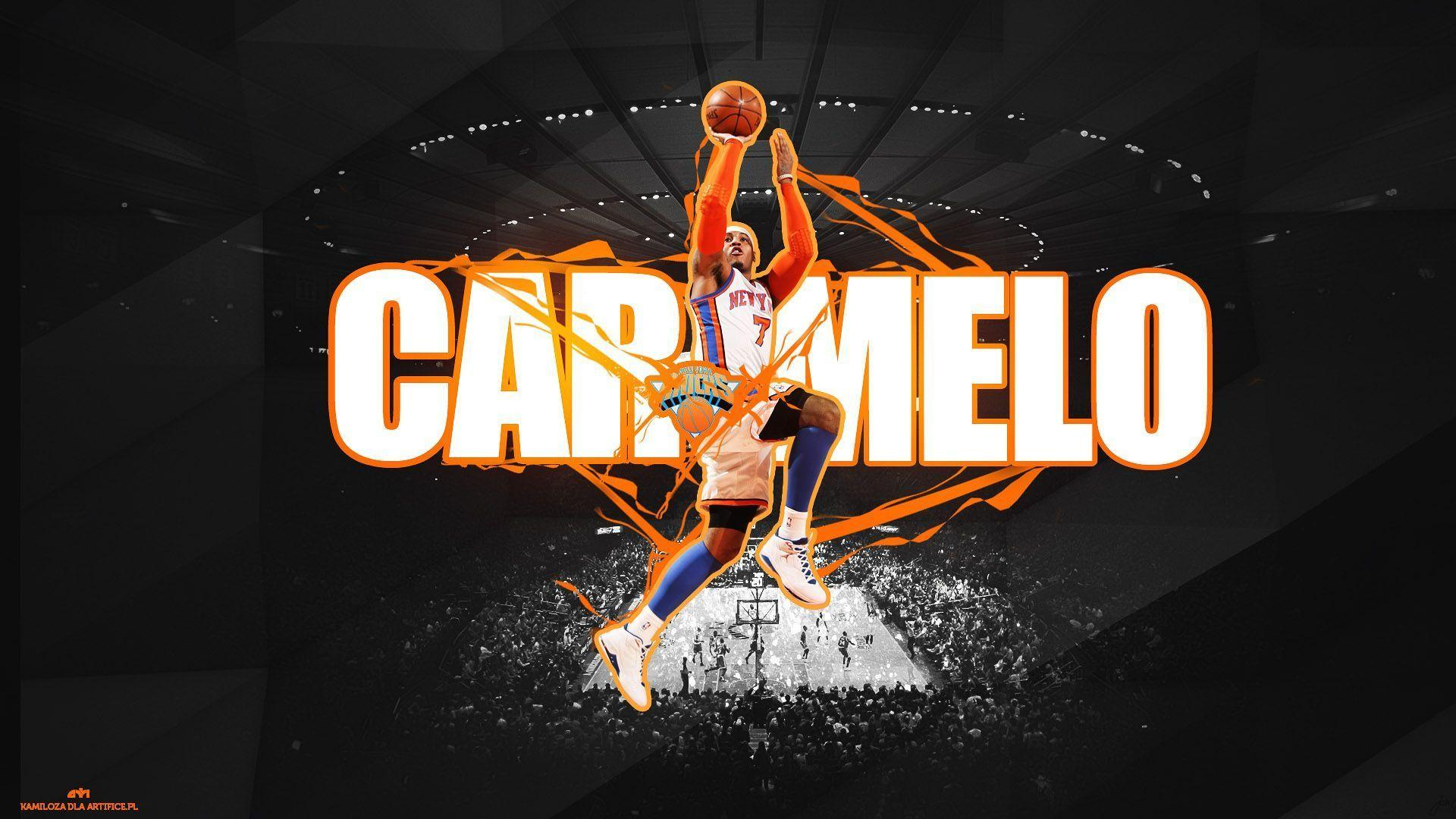 Carmelo Anthony 2015 New York Knicks NBA Wallpapers Wide or HD