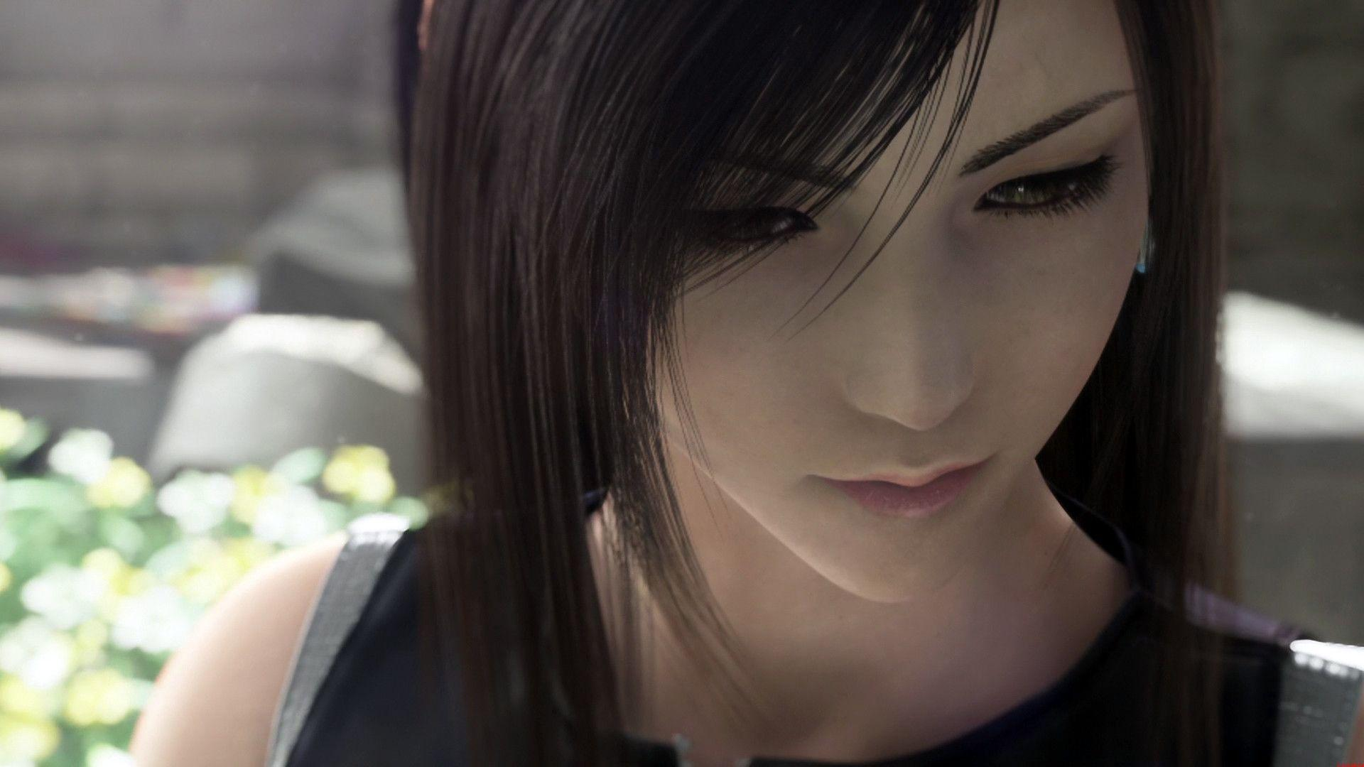Wallpaper HD Tifa Final Fantasy 7
