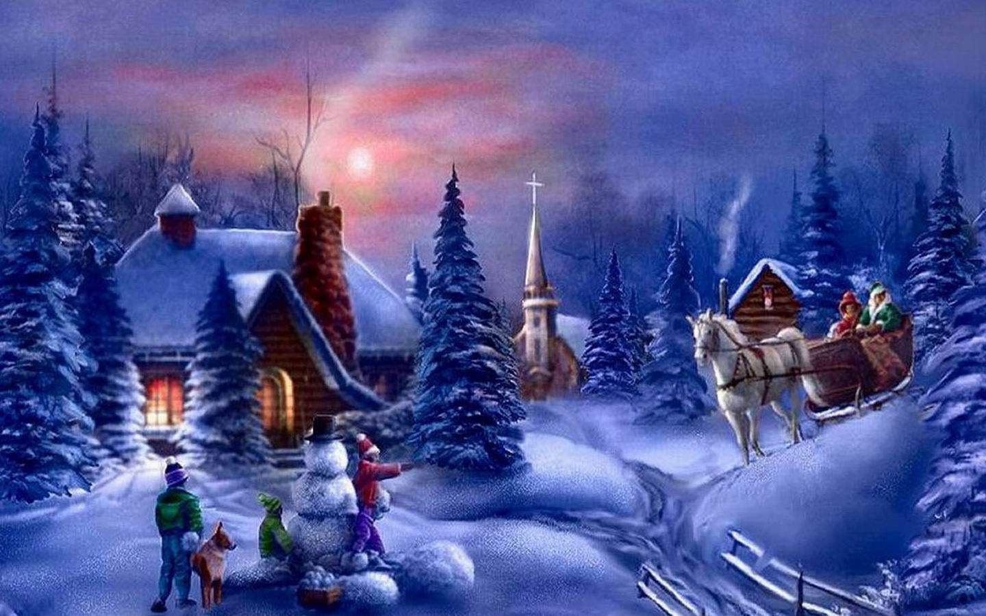 Beautiful Christmas Backgrounds - Wallpaper Cave
