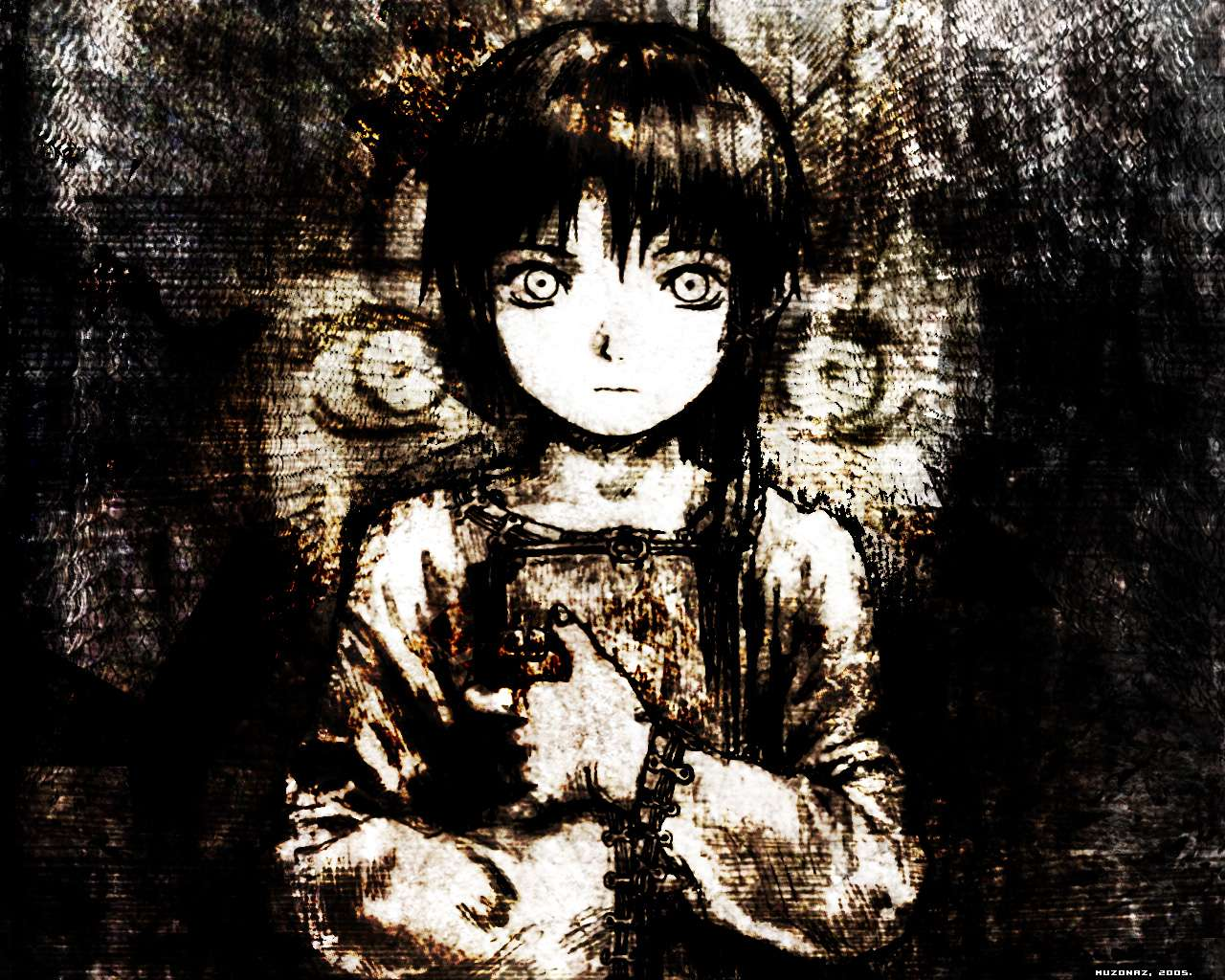 Serial Experiments Lain Anime HD desktop wallpaper High