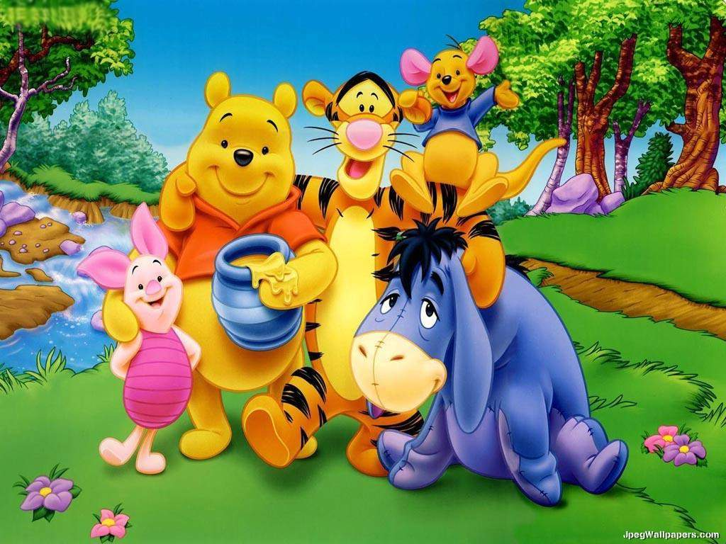 Winnie the pooh and friends wallpapers wallpaper cave - Winnie the pooh and friends wallpaper ...