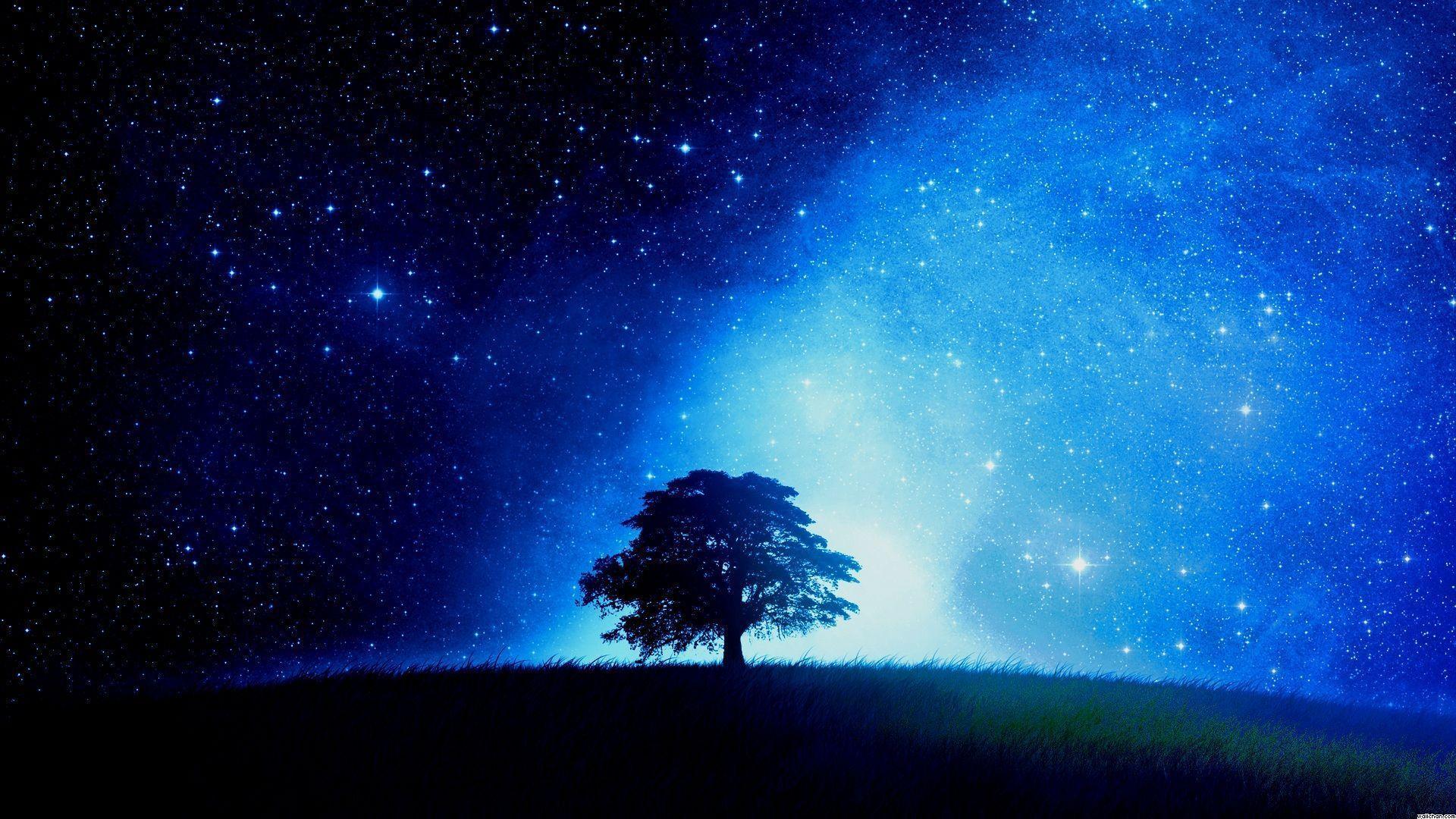 Starry Night Desktop Backgrounds - Wallpaper Cave