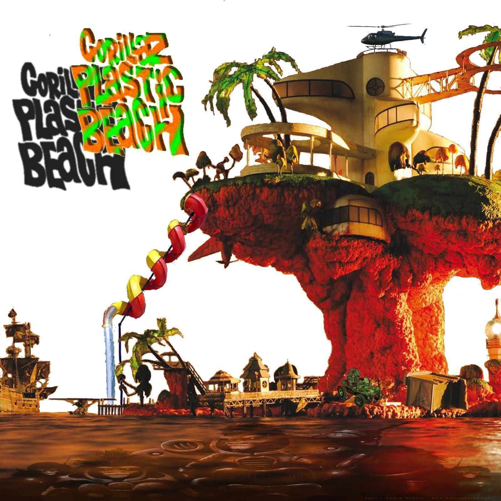 gorillaz wallpapers plastic beach - photo #21