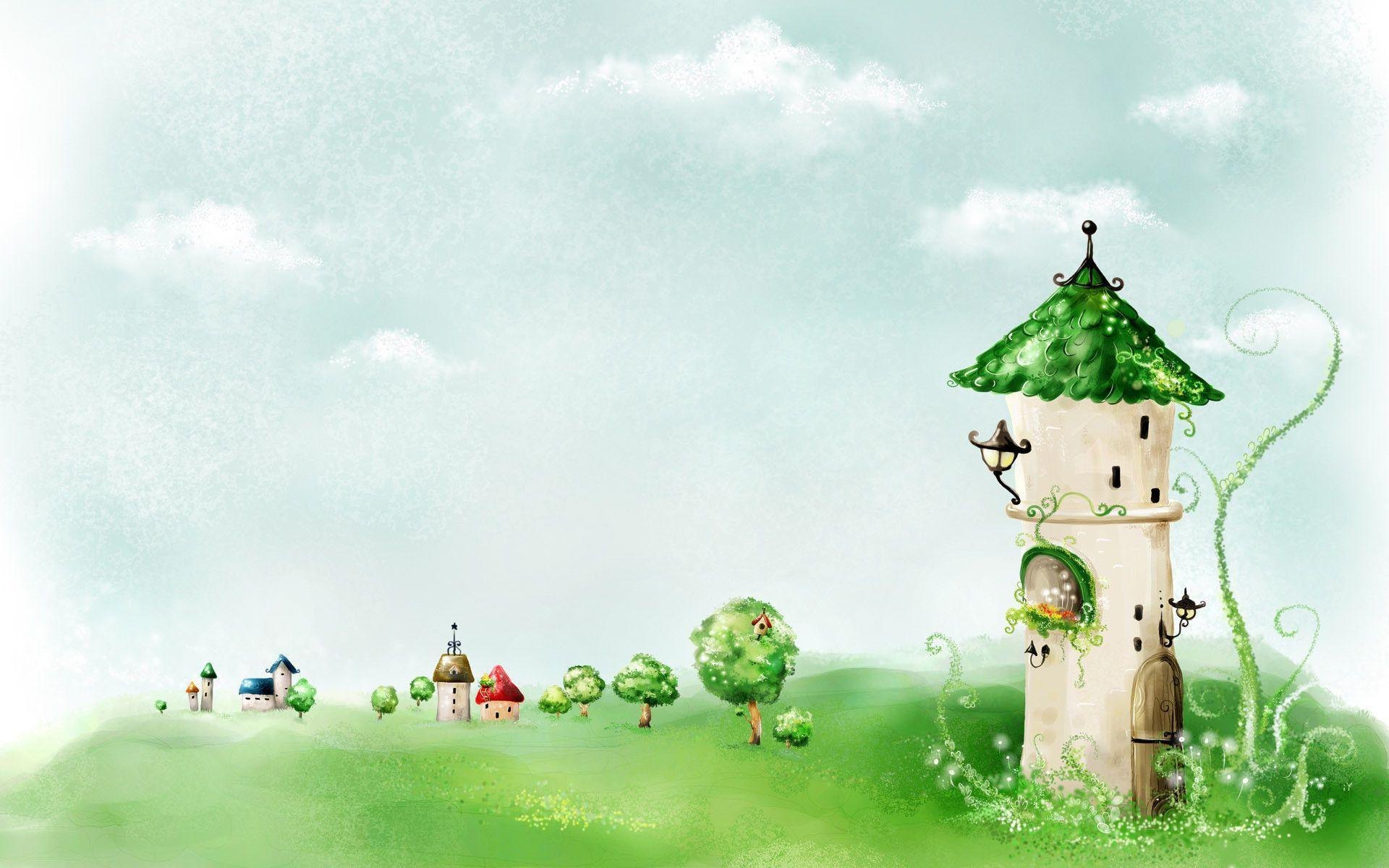 Fairy tale backgrounds wallpaper cave for Fairy tale powerpoint template free download
