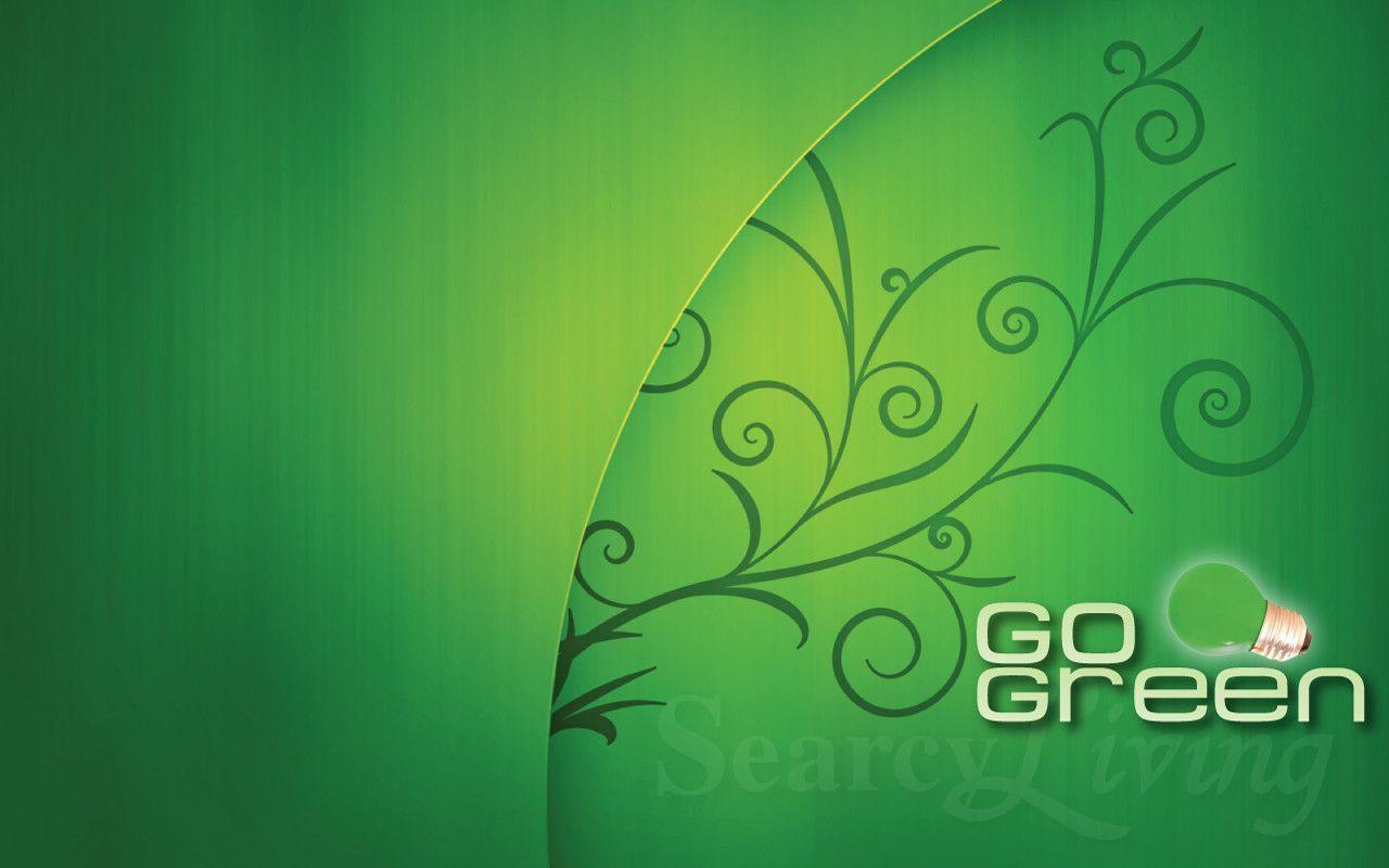 Go Green Wallpaper HD Image 3028