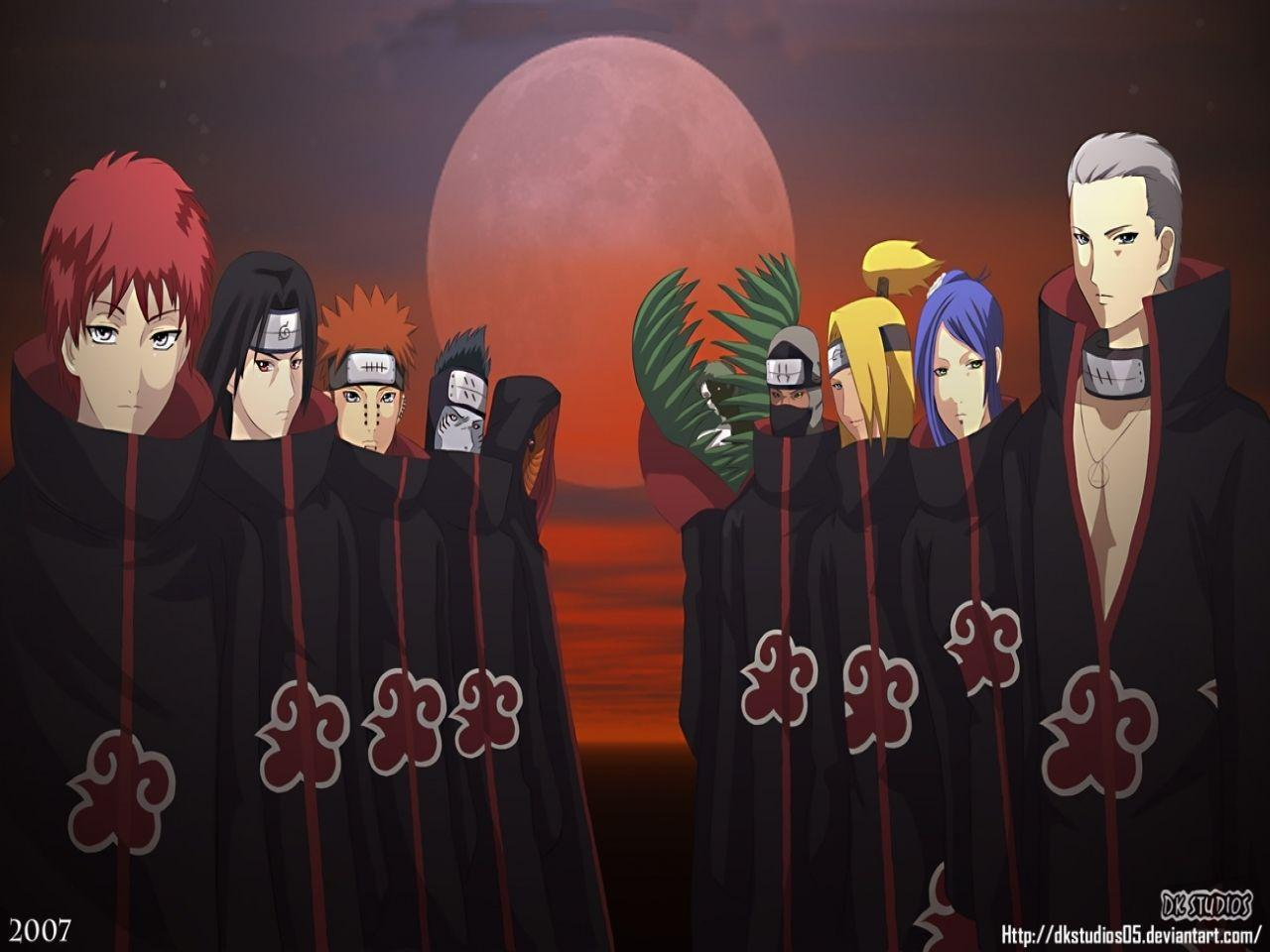 Naruto Shippuden Akatsuki HD Background Wallpaper - Anime Powericare.