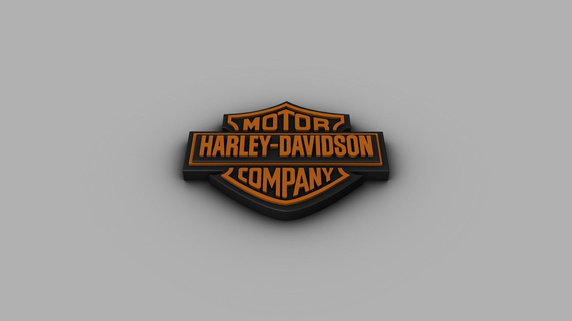 Harley davidson logo wallpapers wallpaper cave for Harley davidson motor co