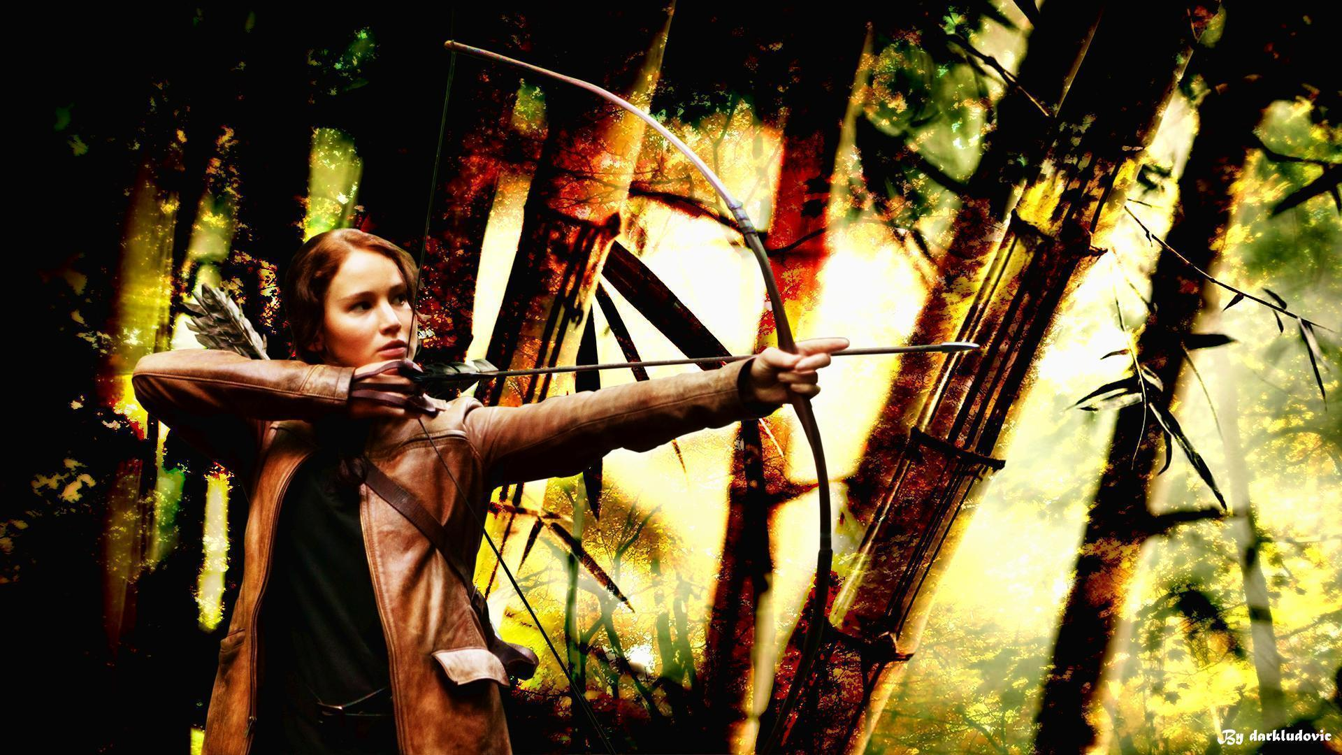 Jennifer Lawrence Hunger Games Widescreen Desktop Wallpapers
