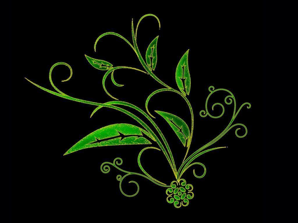 Black Green Wallpapers and Pictures