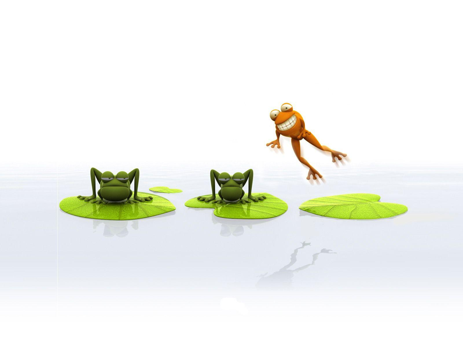 The cartoon frog creativity Wallpapers Animal desktop backgrounds