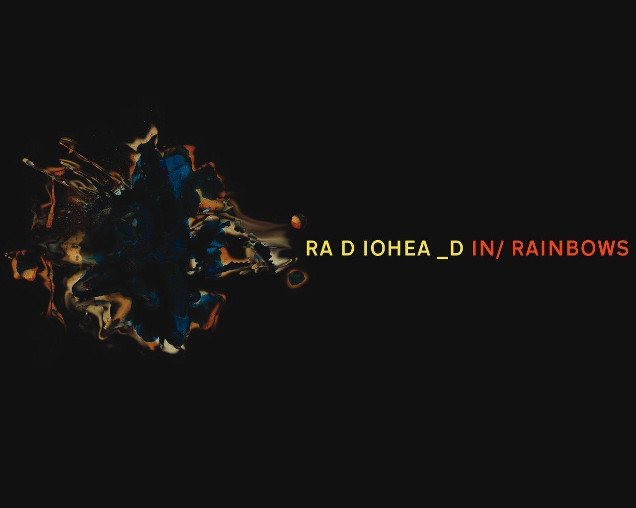 Radiohead rainbows lyrics