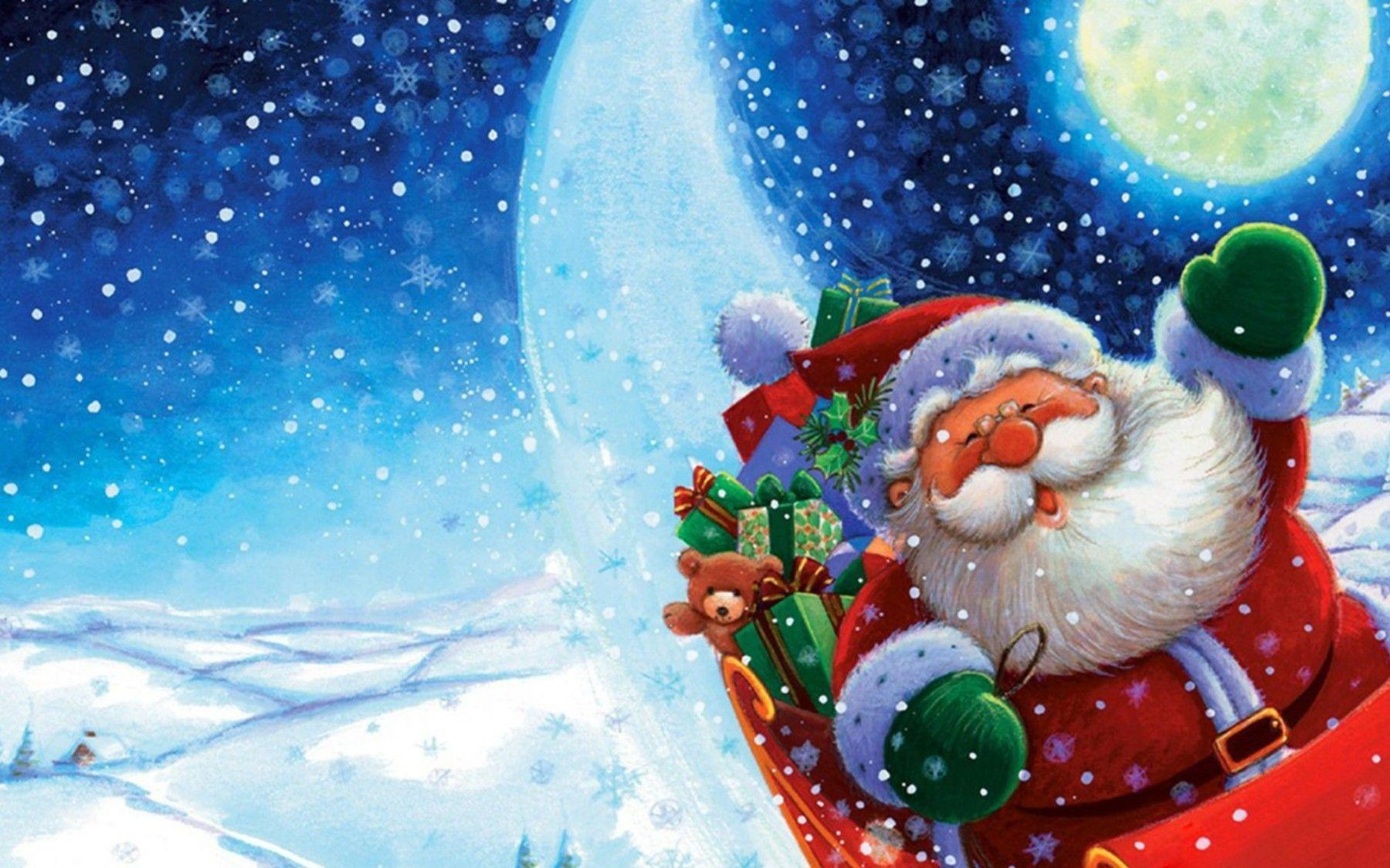 Wallpapers For Santa Claus Wallpaper