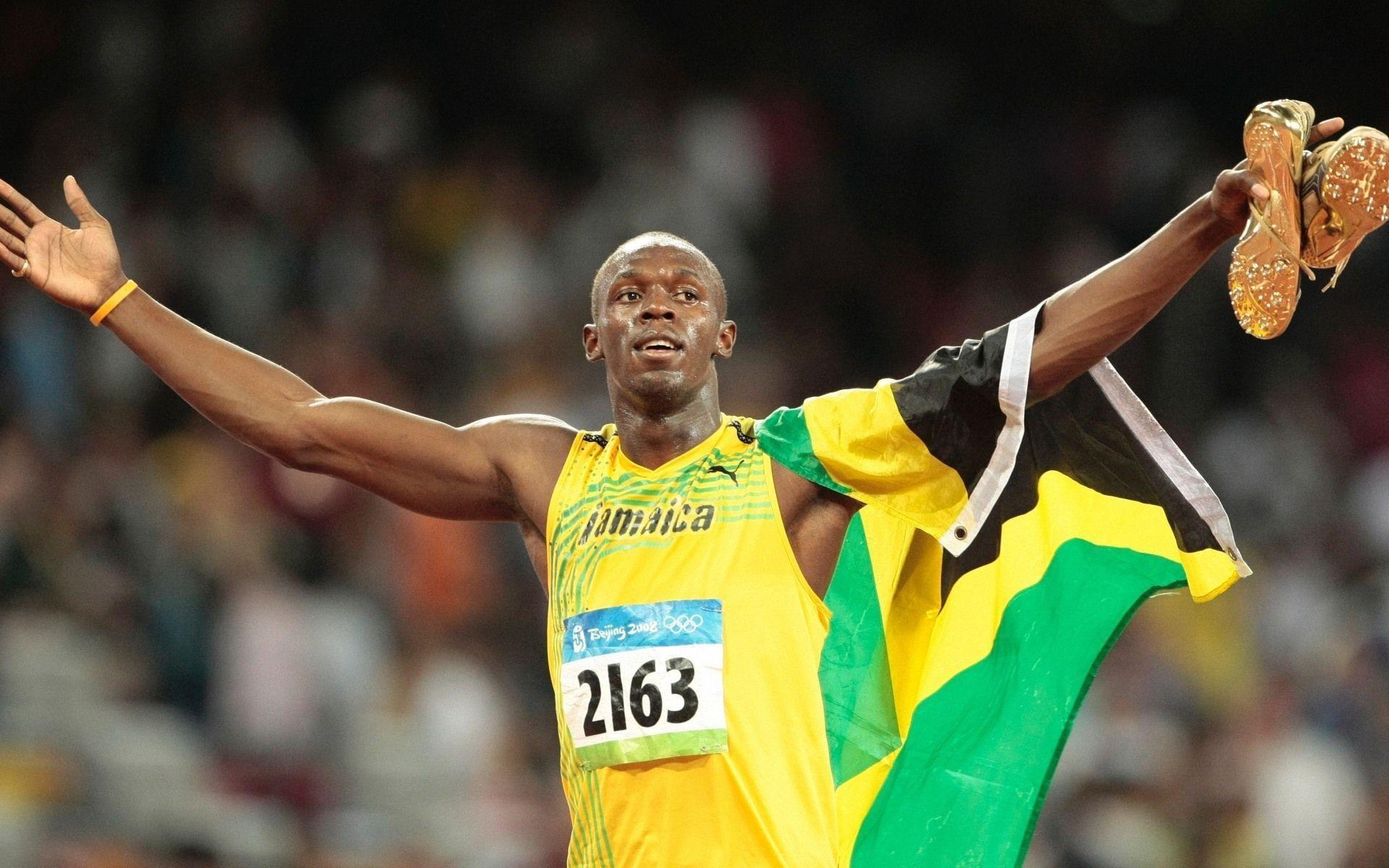 Usain Bolt Le 15 août 2016 3 e titre olympique du 100 m lors des Jeux olympiques de Rio Informations Disciplines 100 m 200 m 4 100 m Période dactivité