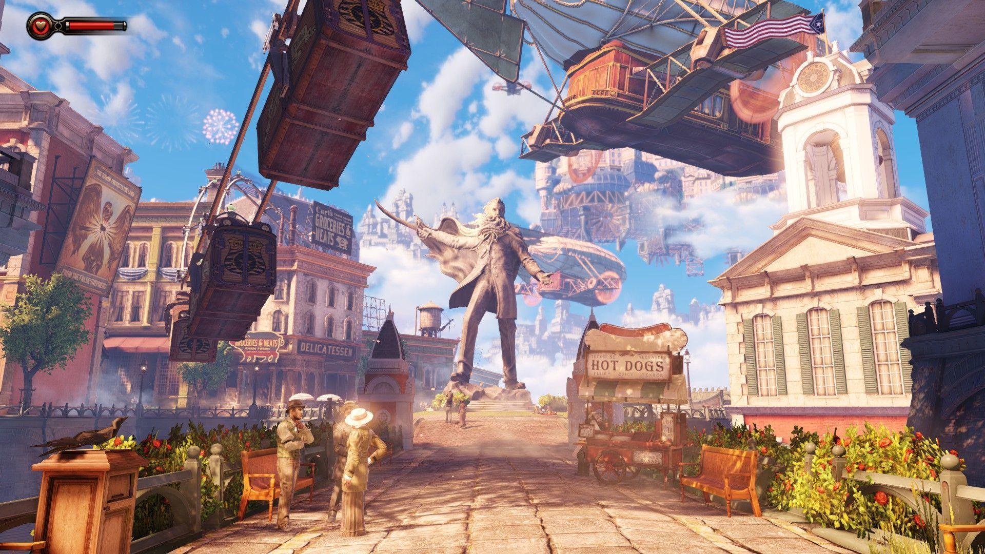 BioShock Infinite Backgrounds - Wallpaper Cave