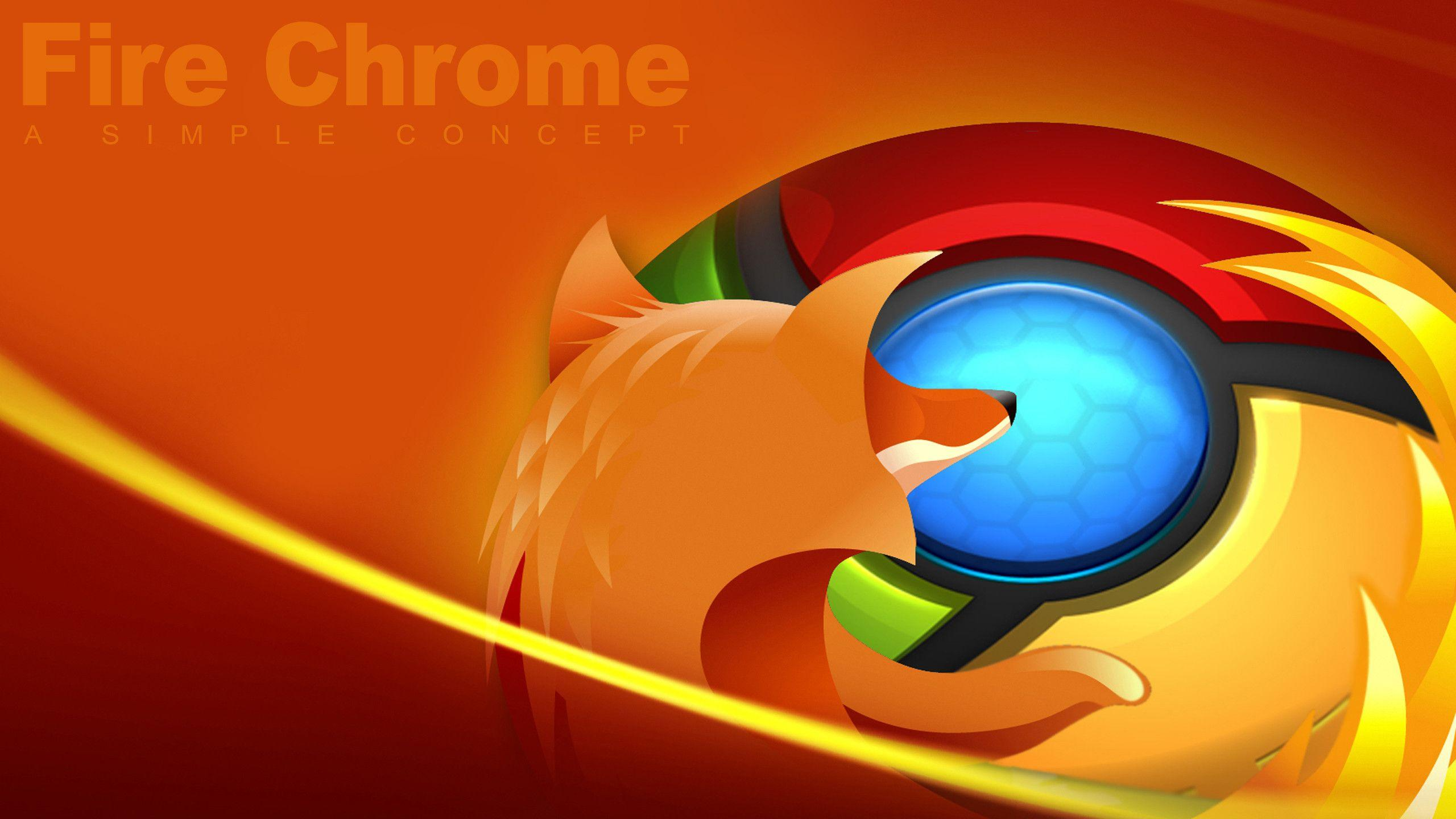 Fire-Chrome Wallpaper by HckmstrRahul on DeviantArt