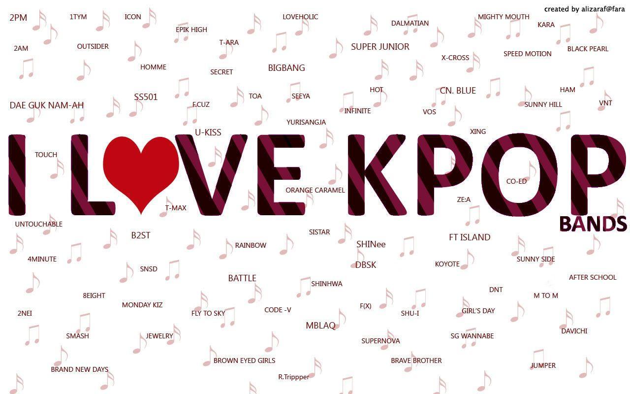 K Pop Backgrounds Wallpaper Cave