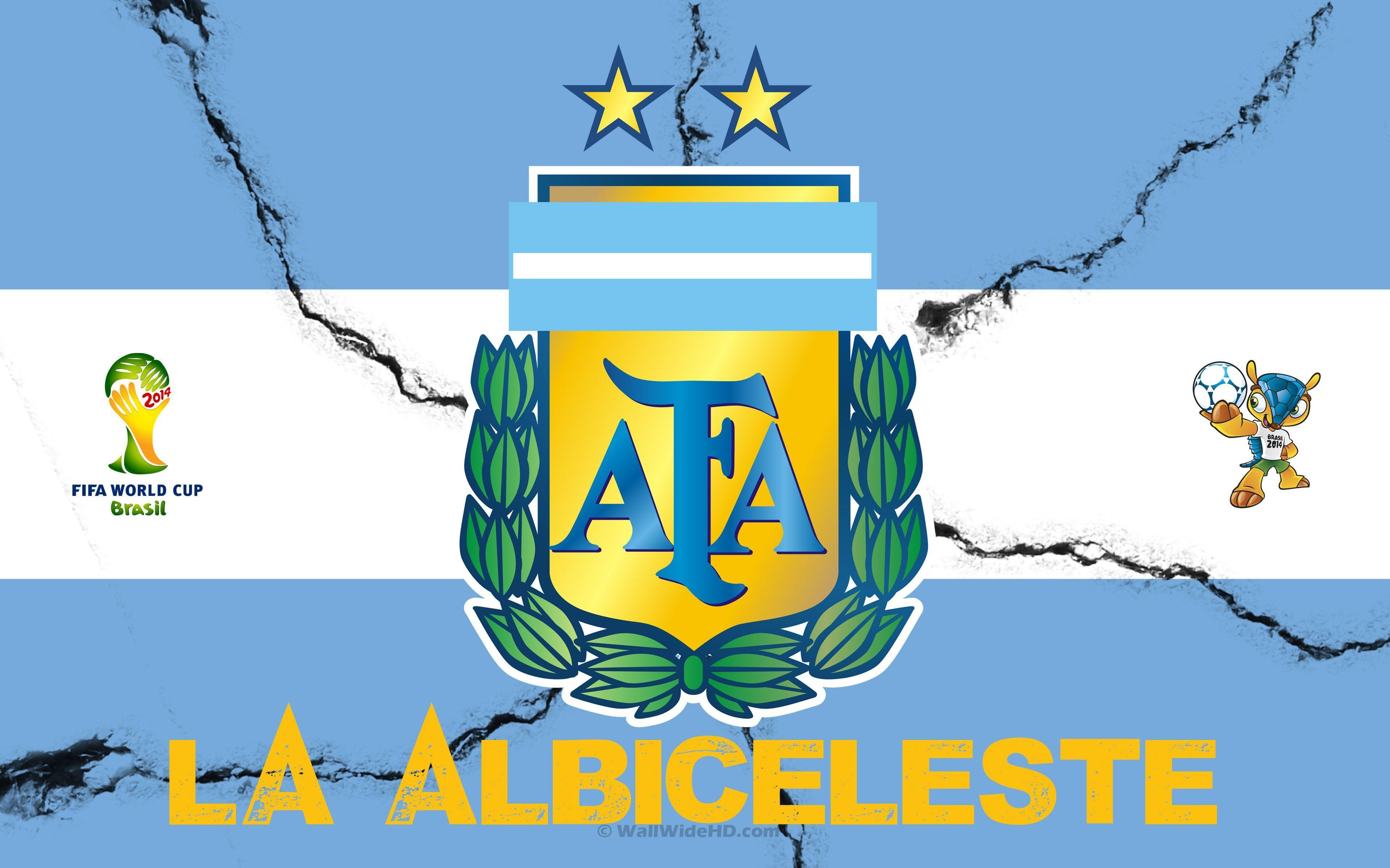 Argentina Soccer Team Logo Wallpaper Argentina Wallp...