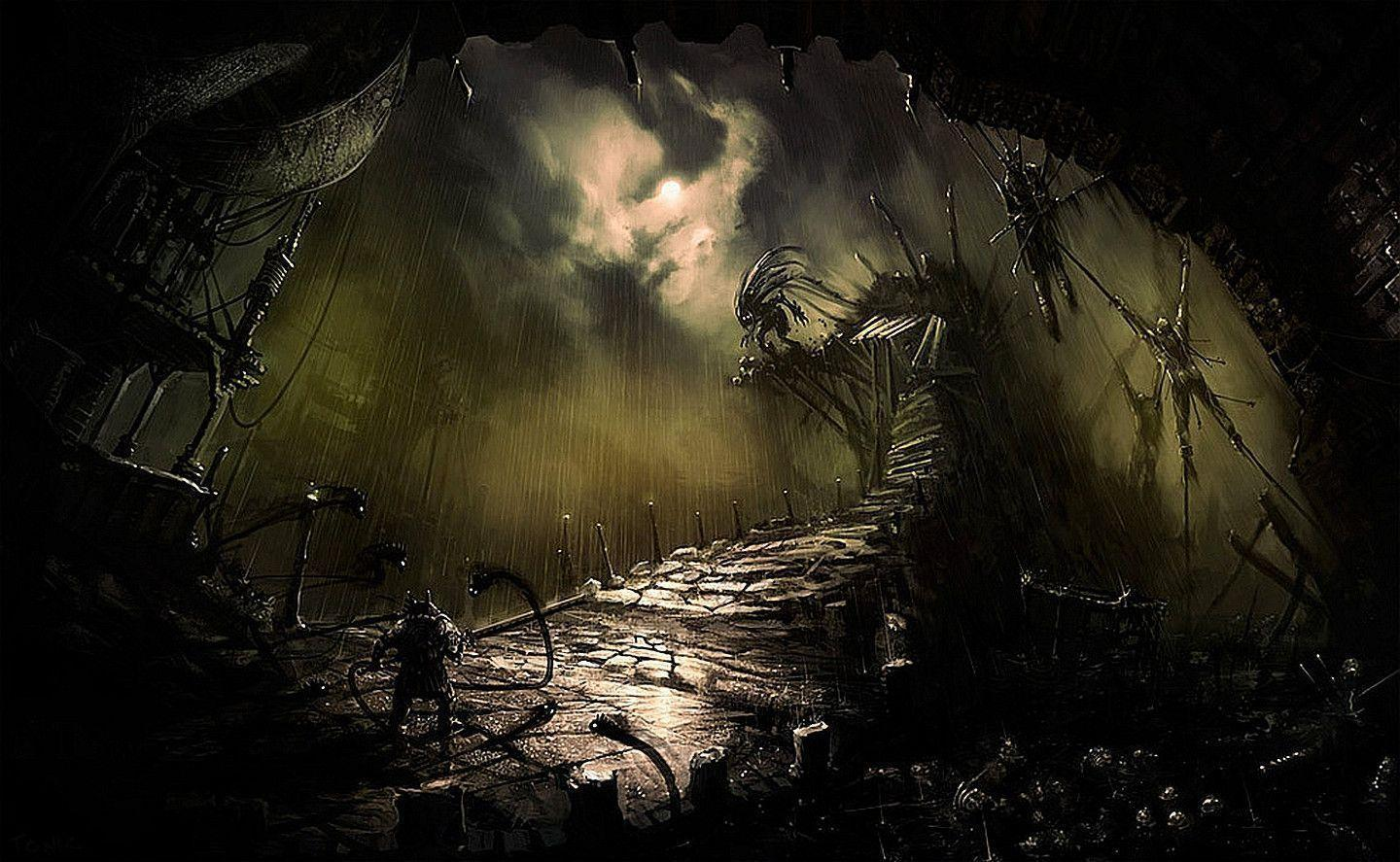 Cool Scary Backgrounds - Wallpaper Cave